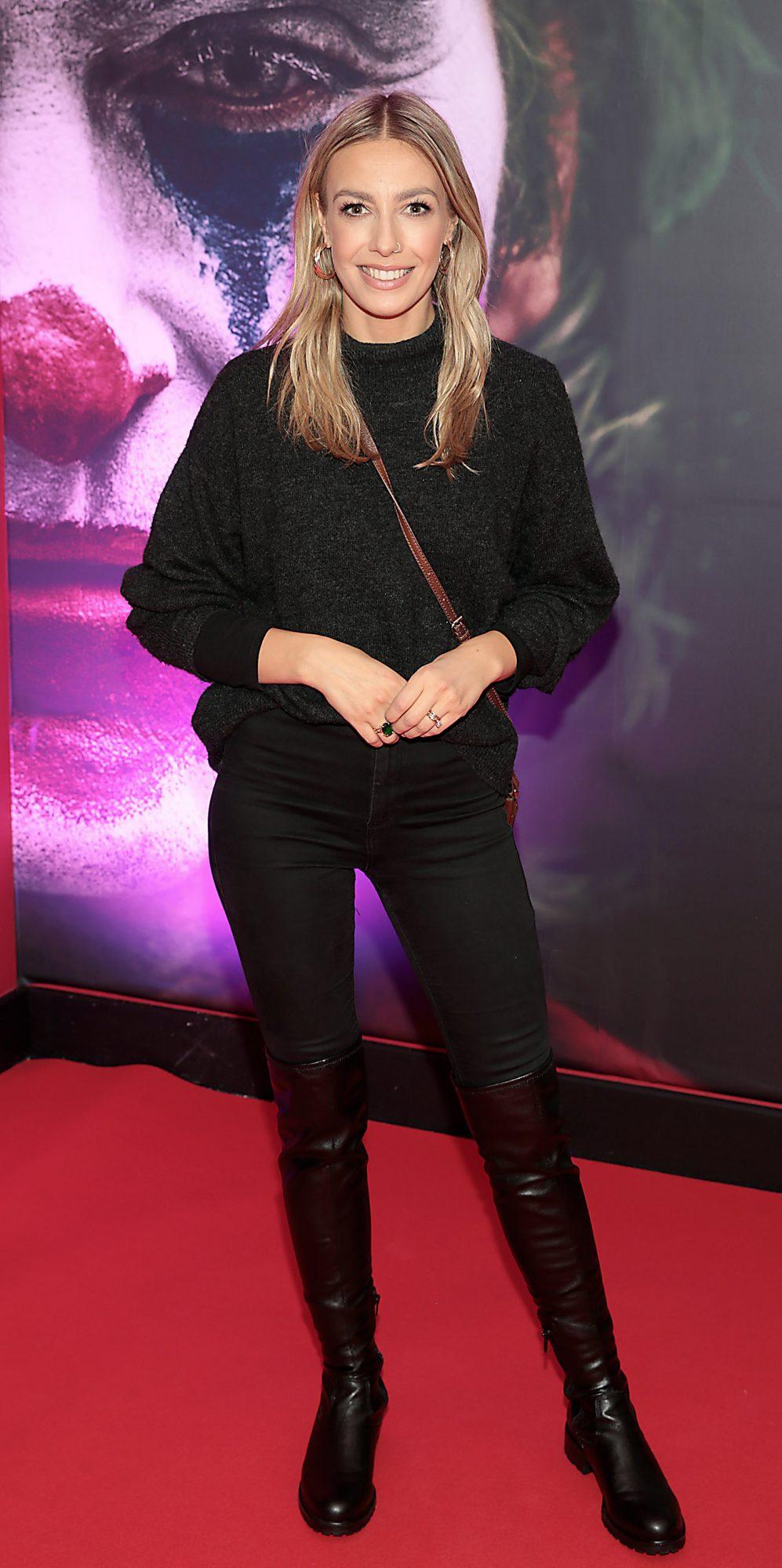 Blathnaid Treacy at the Irish Premiere screening of Joker at Cineworld, Dublin. Pic: Brian McEvoy.