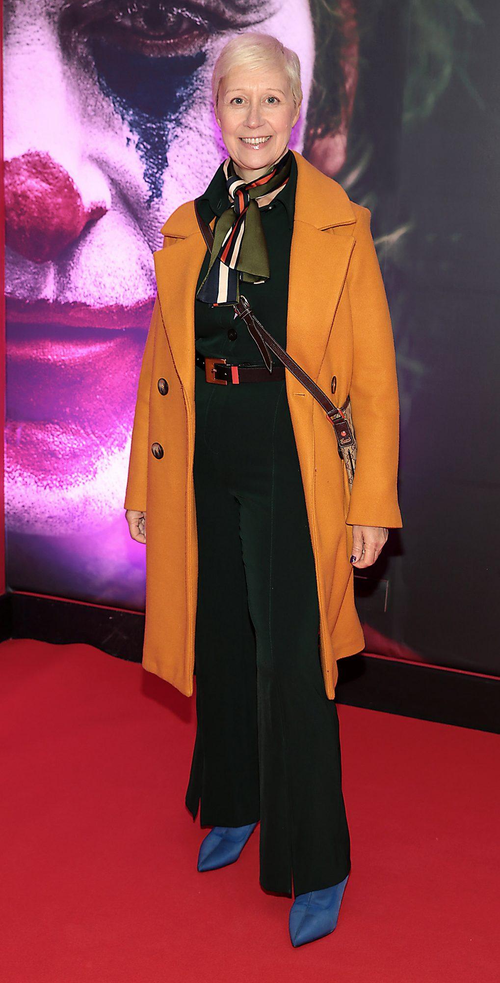 Sonja Mohlich at the Irish Premiere screening of Joker at Cineworld, Dublin. Pic: Brian McEvoy.