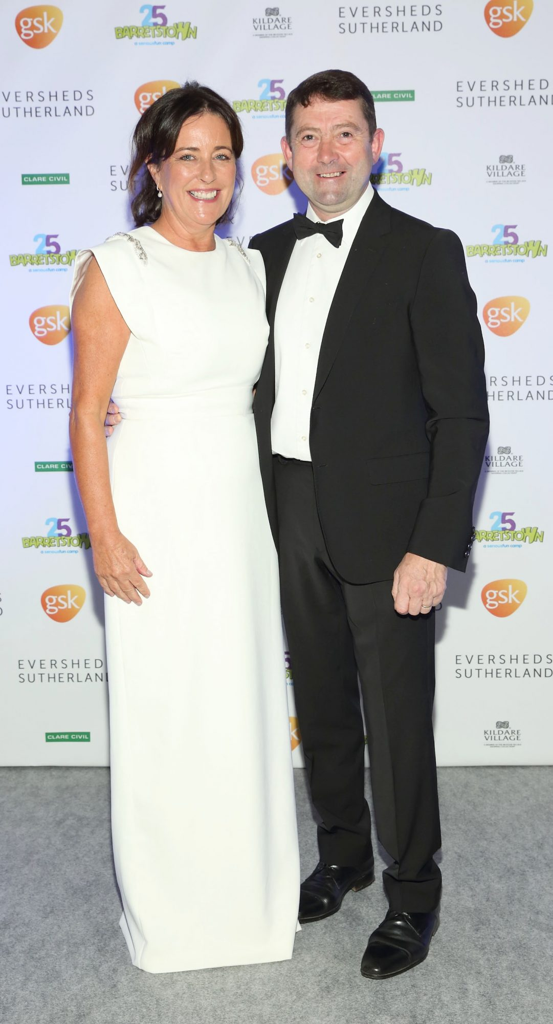 Audrey O'Dwyer and Conor O'Dwyer at the Barretstown 25th Anniversary Gala Ball at the RDS, Basllsbridge, Dublin.  Pic: Brian McEvoy Photography