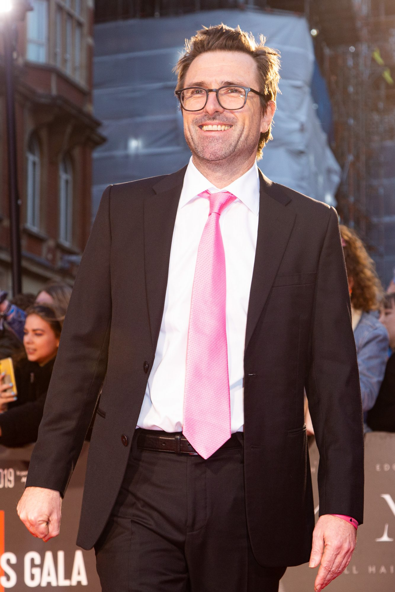 David Michiod at The King UK Premiere during the 63rd BFI London Film Festival at Odeon Luxe Leicester Square on 3rd October 2019.  Photos: Netflix