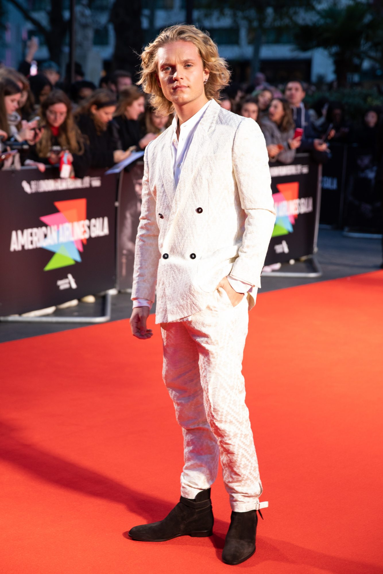 Tom Glynn-Carney at The King UK Premiere during the 63rd BFI London Film Festival at Odeon Luxe Leicester Square on 3rd October 2019.  Photos: Netflix