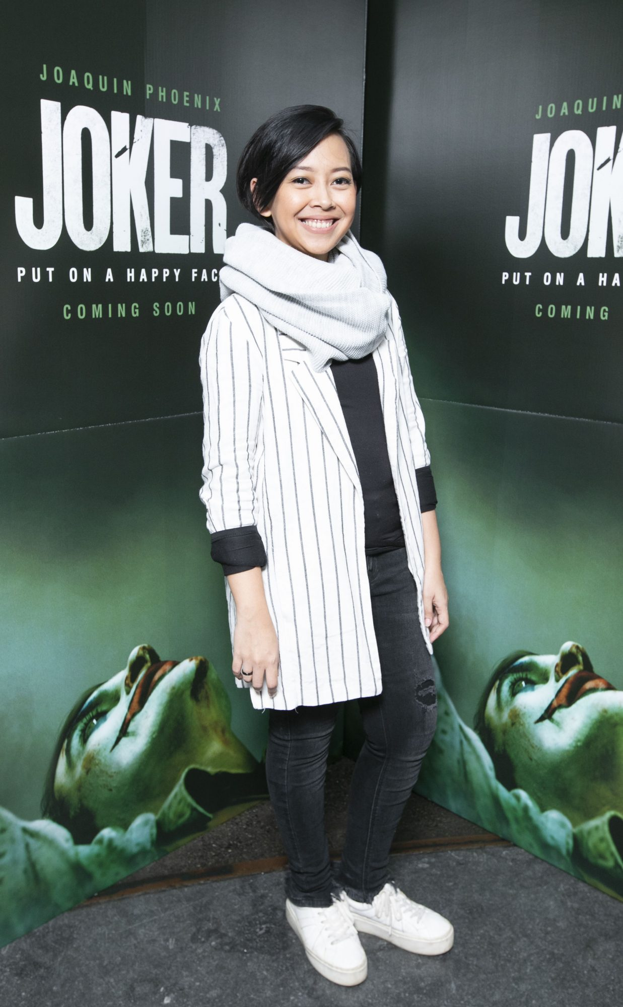 Achi Hardjakusumah at the special 70mm screening of Todd Phillips Joker at the IFI Dublin. Pic: Brian McEvoy Photography