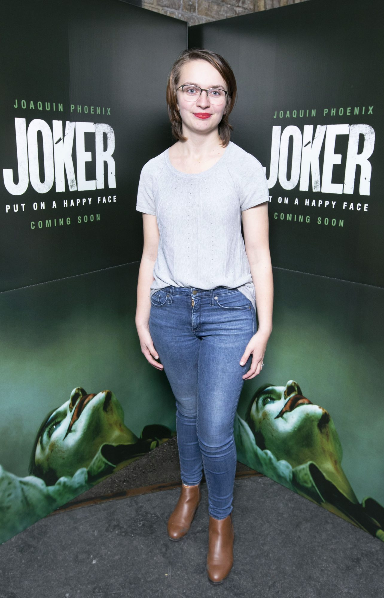 Brighid Farrell at the special 70mm screening of Todd Phillips Joker at the IFI Dublin. Pic: Brian McEvoy Photography