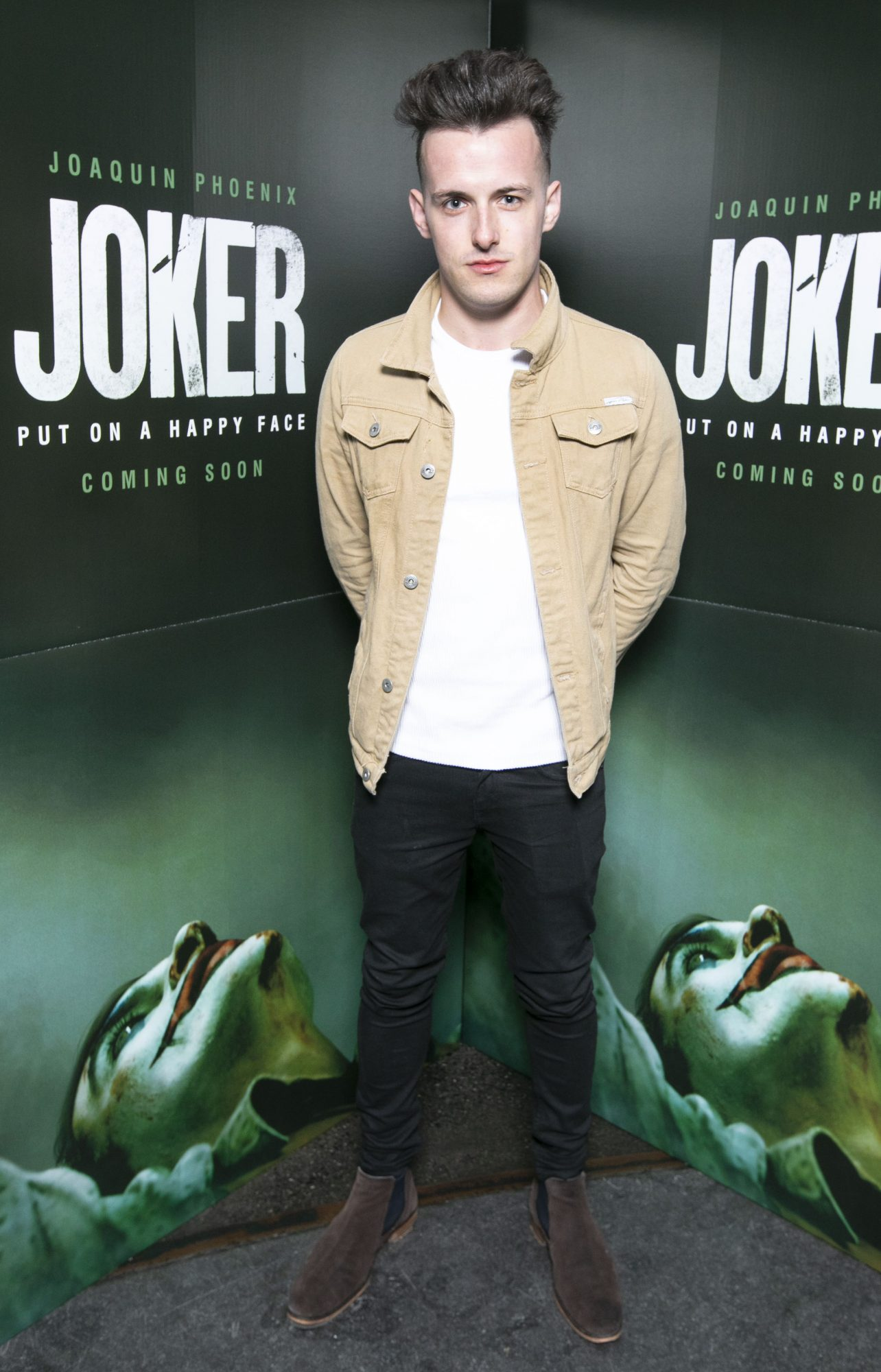 Dale Leadon at the special 70mm screening of Todd Phillips Joker at the IFI Dublin. Pic: Brian McEvoy Photography
