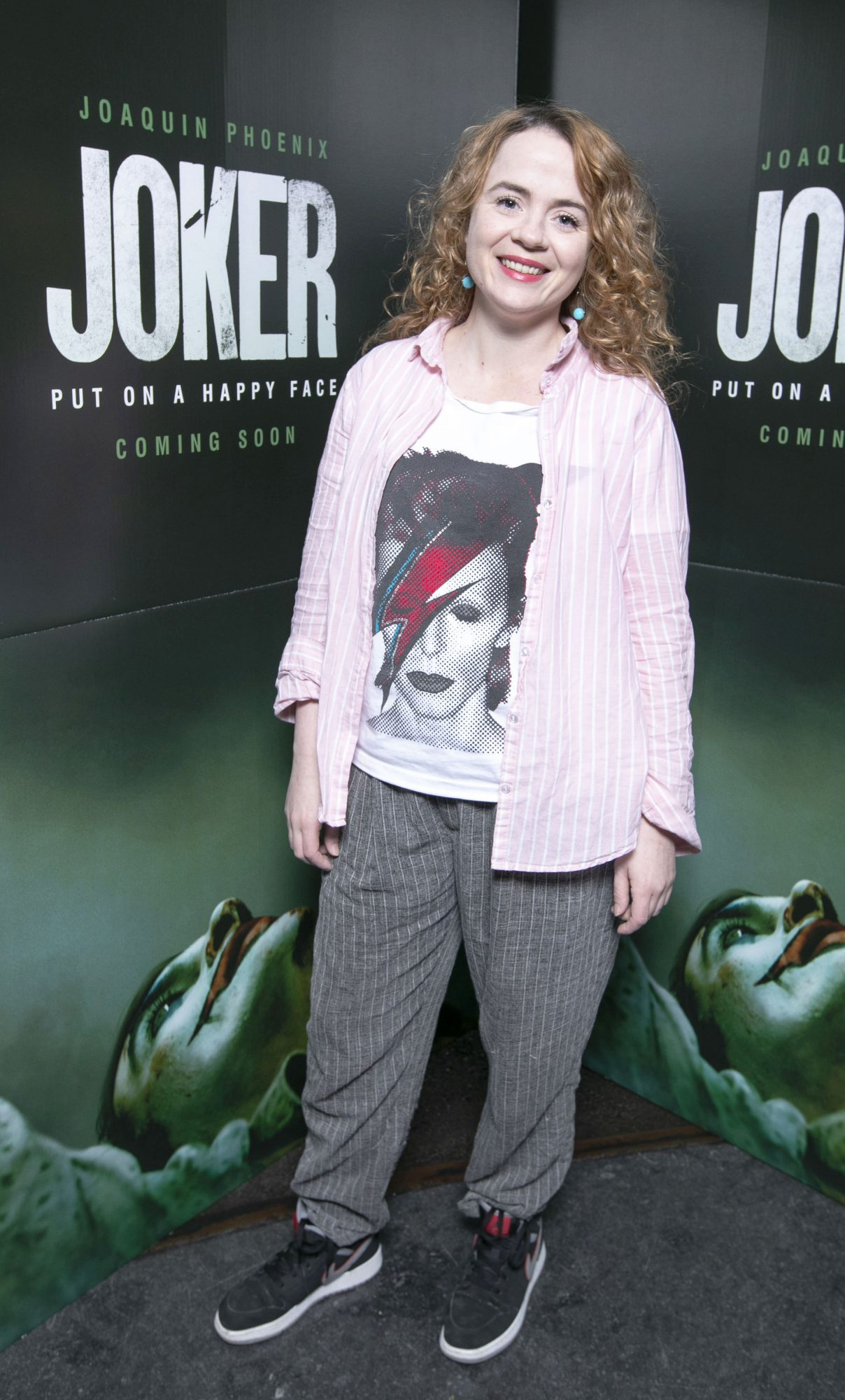 Maureen O'Connell at the special 70mm screening of Todd Phillips Joker at the IFI Dublin. Pic: Brian McEvoy Photography