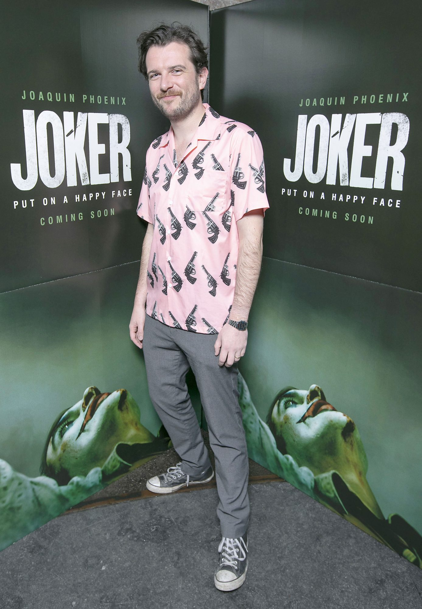 Kevin McGahern at the special 70mm screening of Todd Phillips Joker at the IFI Dublin. Pic: Brian McEvoy Photography