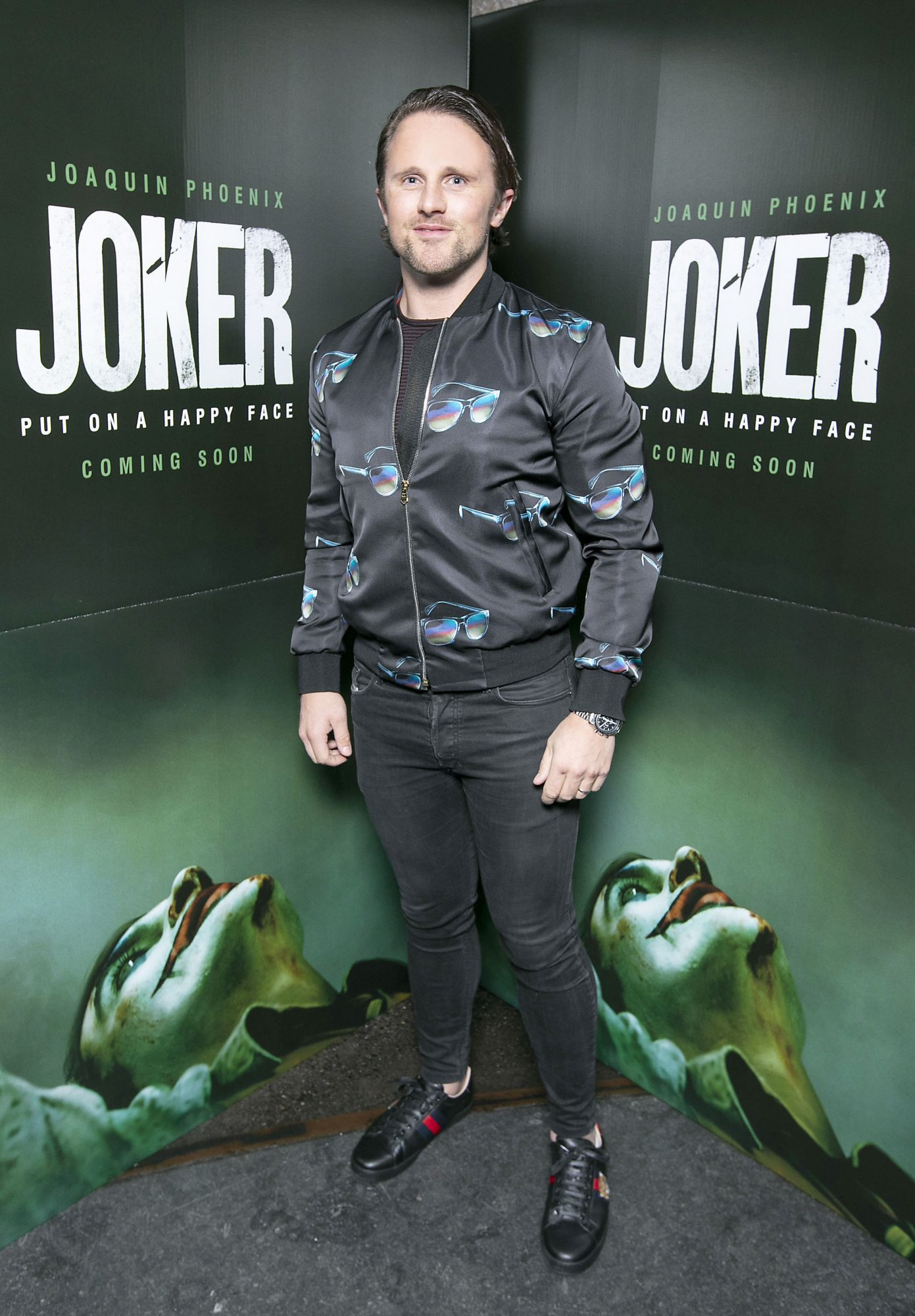 Richard Keatley at the special 70mm screening of Todd Phillips Joker at the IFI Dublin. Pic: Brian McEvoy Photography