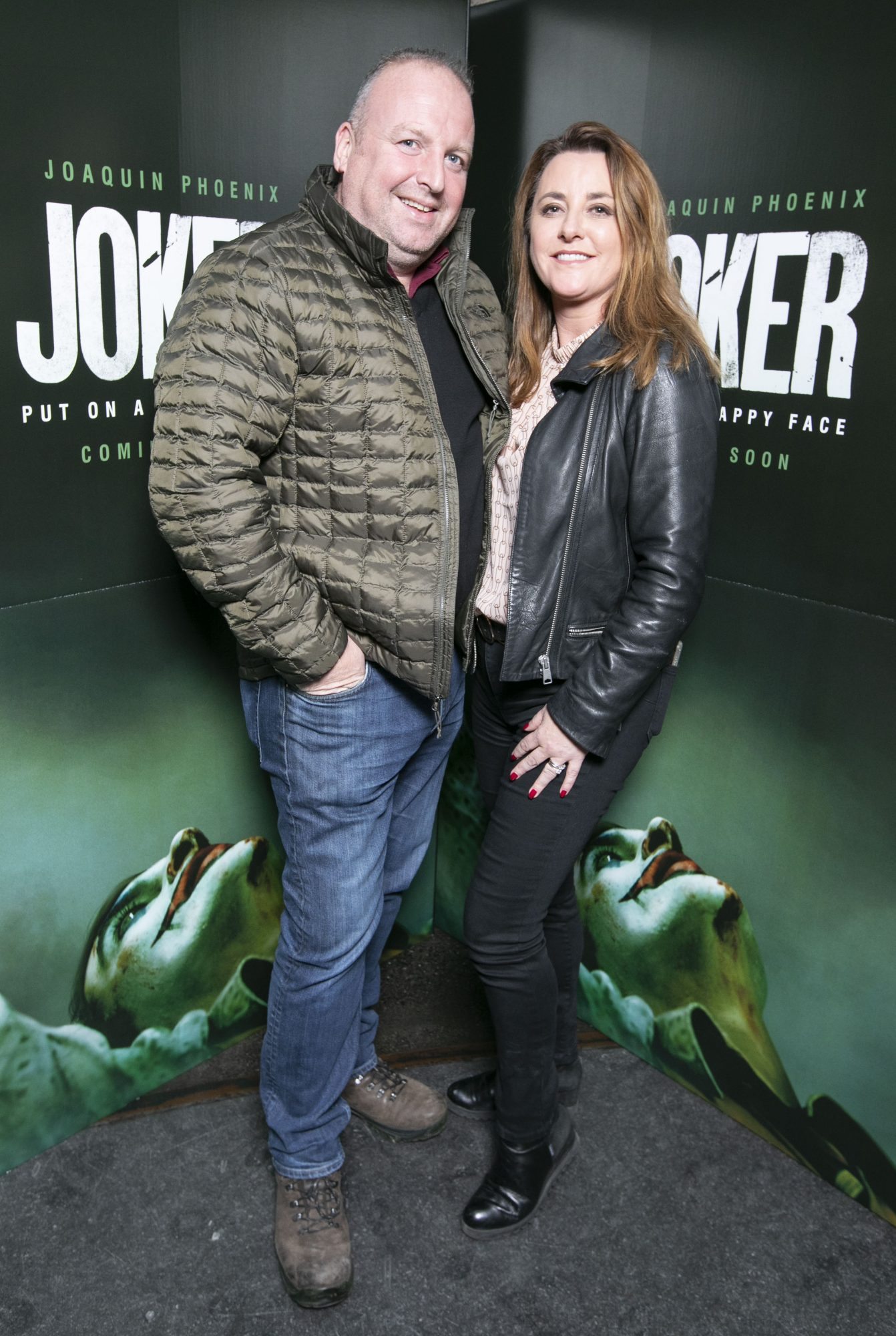 Eoin McConnon and  Ricarda McConnon at the special 70mm screening of Todd Phillips Joker at the IFI Dublin. Pic: Brian McEvoy Photography