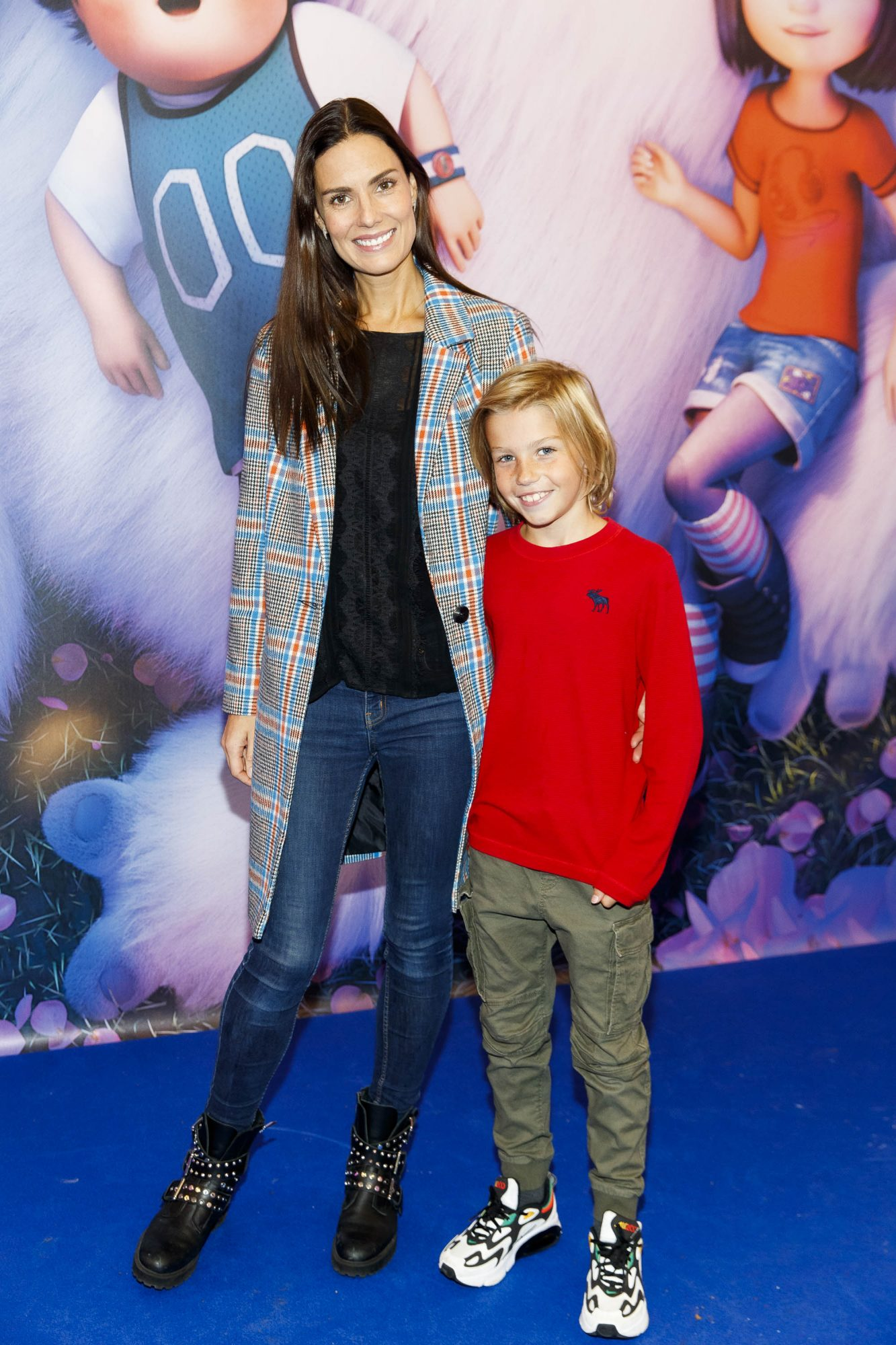 Alison Canavan and son James (9) pictured at a special preview screening of DreamWorks Animation ABOMINABLE at Odeon Point Square, Dublin. Picture Andres Poveda