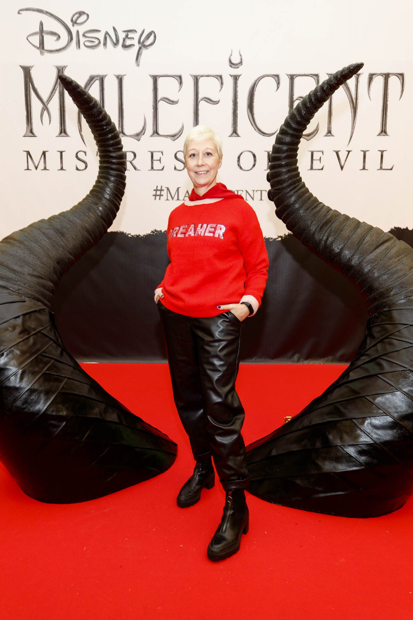 Sonja Mohlich pictured at the special family preview screening of Disney's MALEFICENT: MISTRESS OF EVIL, in the Odeon Point Village. Picture Andres Poveda