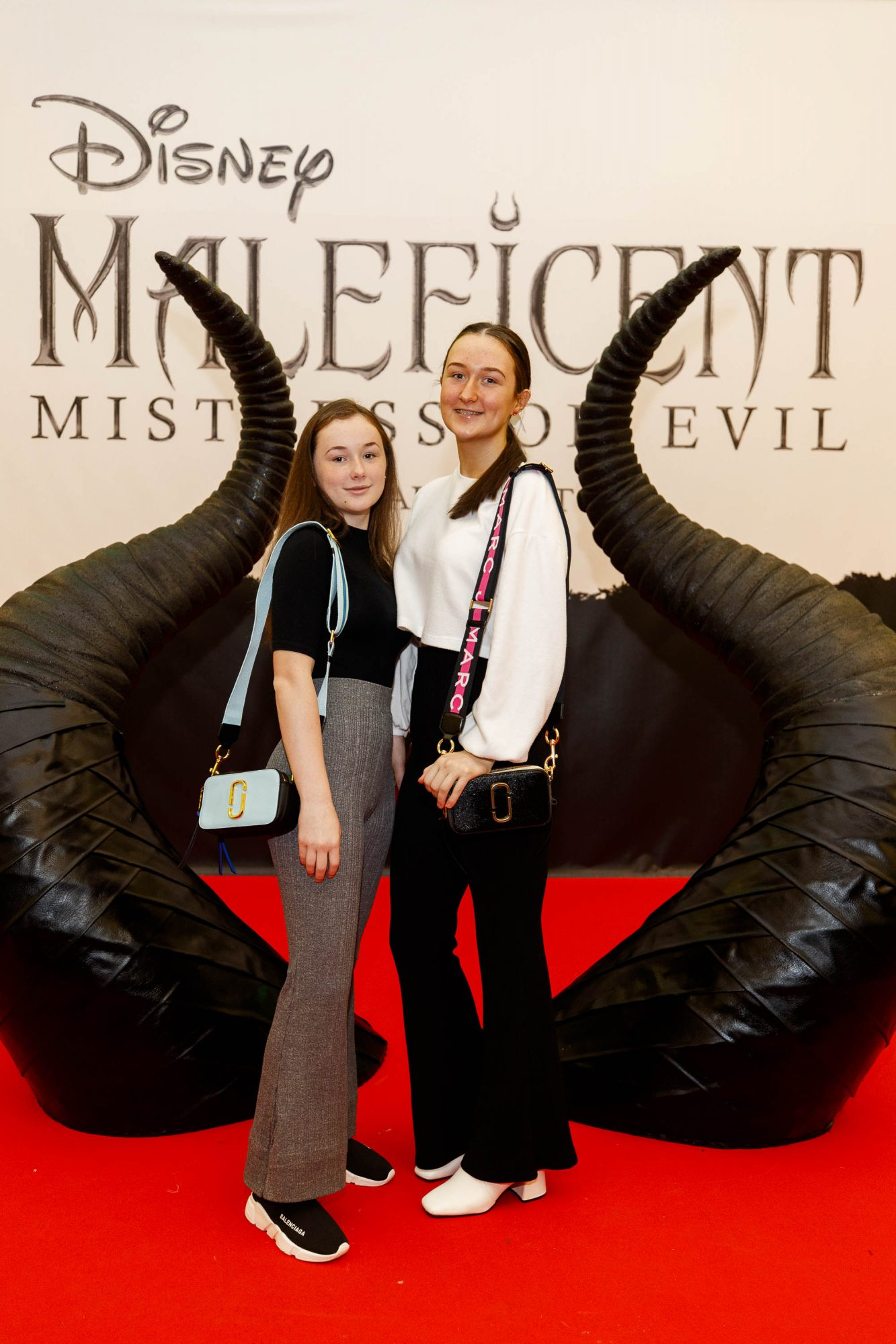 Kimn Fitzgerald and Mia Fitzgerald (16) from Clondalkin pictured at the special family preview screening of Disney's MALEFICENT: MISTRESS OF EVIL, in the Odeon Point Village. Picture Andres Poveda