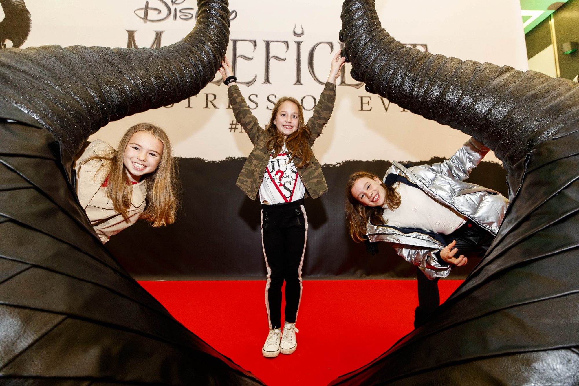 The special family preview screening of Disney's MALEFICENT: MISTRESS OF EVIL, in the Odeon Point Village. Picture Andres Poveda