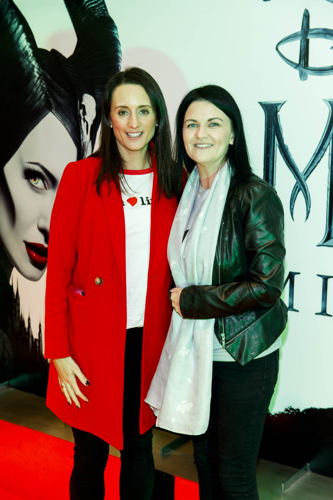 """Annmarie Nolan and Joanne Kavanagh pictured a the special preview screening of Disney's """"Maleficent: Mistress of Evil' at the Light House Cinema, Dublin. Picture: Andres Poveda"""