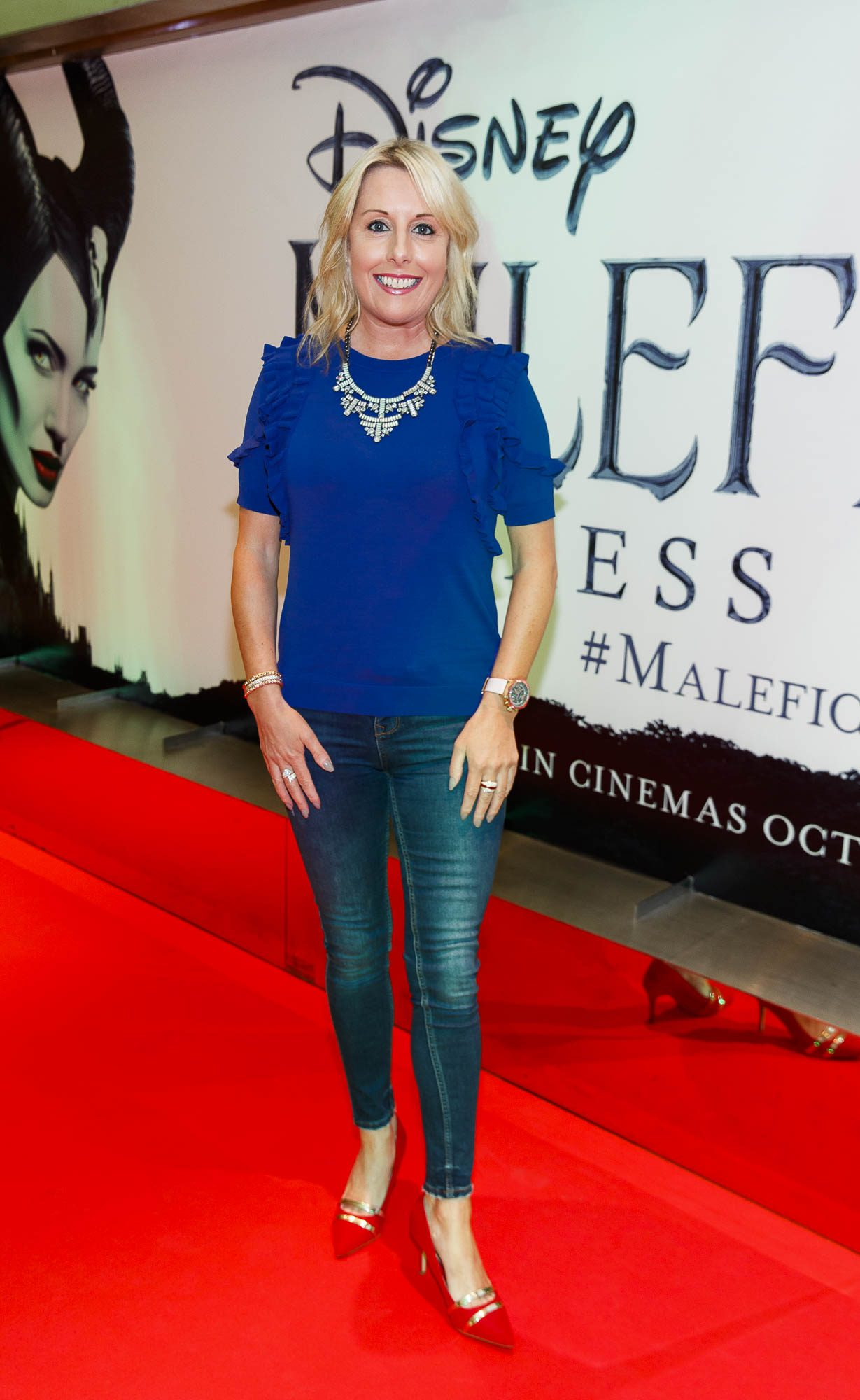 """Romy Carroll pictured a the special preview screening of Disney's """"Maleficent: Mistress of Evil' at the Light House Cinema, Dublin. Picture: Andres Poveda"""