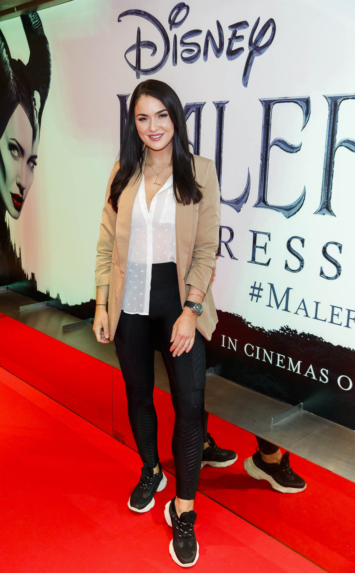 """Laura Fox pictured a the special preview screening of Disney's """"Maleficent: Mistress of Evil' at the Light House Cinema, Dublin. Picture: Andres Poveda"""