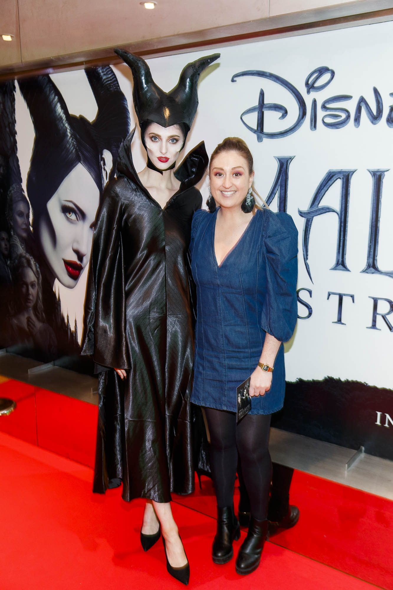 """Lynda Burke pictured a the special preview screening of Disney's """"Maleficent: Mistress of Evil' at the Light House Cinema, Dublin. Picture: Andres Poveda"""