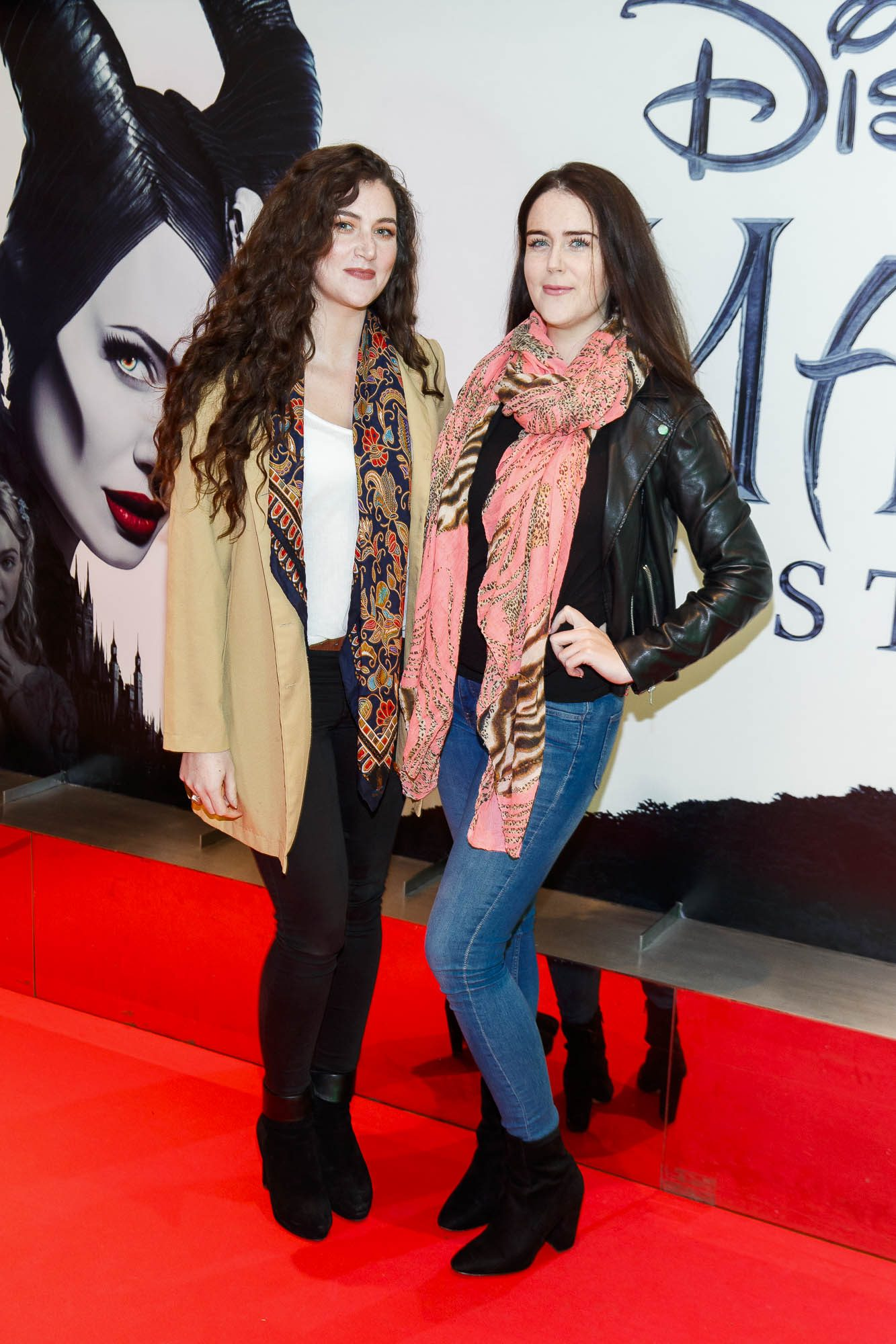 """Fiona Sorahan and Rachel Sorahan pictured a the special preview screening of Disney's """"Maleficent: Mistress of Evil' at the Light House Cinema, Dublin. Picture: Andres Poveda"""