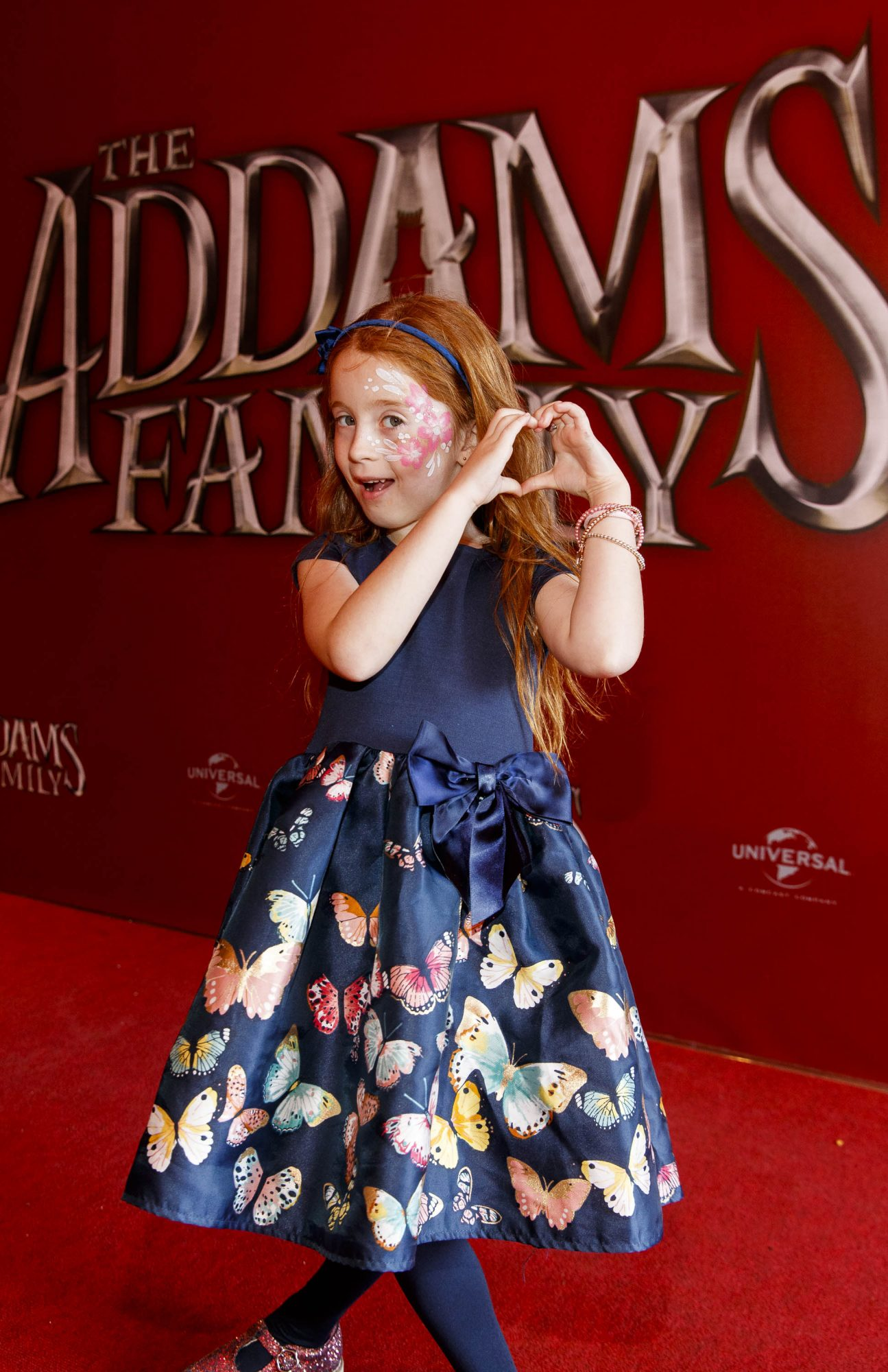 Rue Darcy (6) from Walkinstown pictured at a special preview screening of The Addams Family at the Light House Cinema, Dublin.  Picture: Andres Poveda