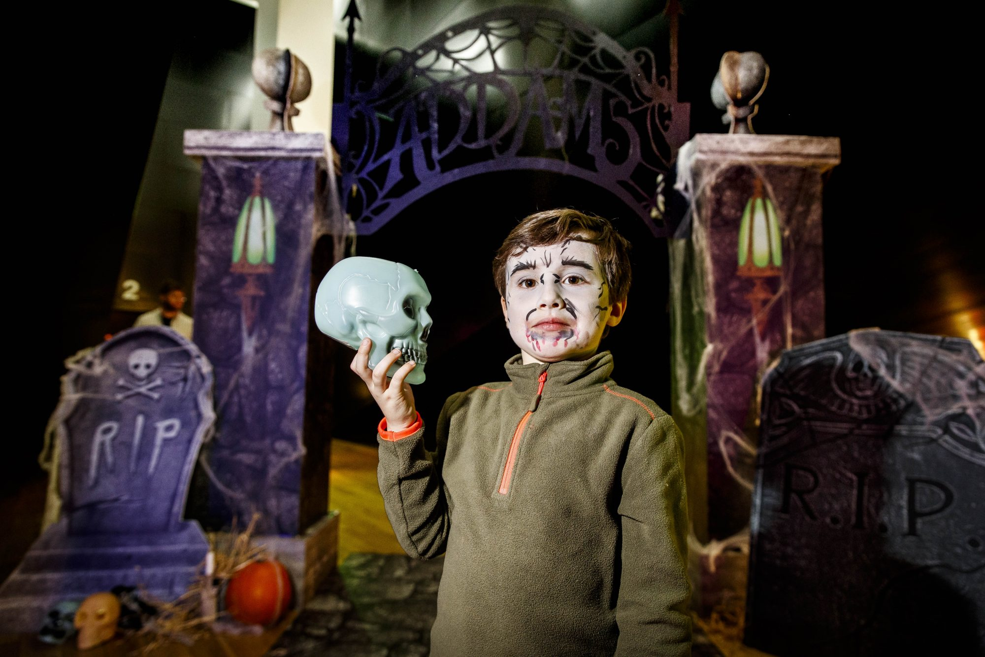 Elliot Higgins (4) pictured at a special preview screening of The Addams Family at the Light House Cinema, Dublin.  Picture: Andres Poveda