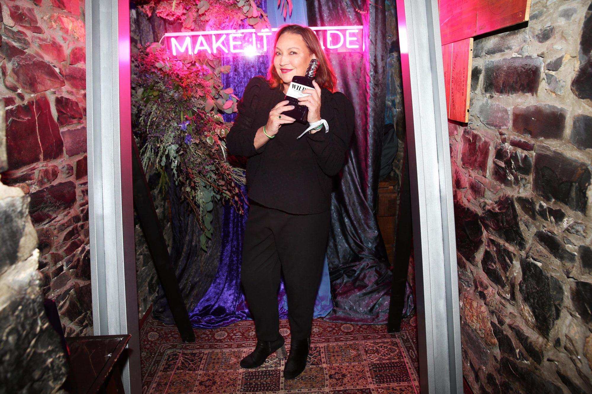 Norah Casey pictured at the exclusive global launch of Wilde Irish Gin at The Cellar Bar last night. Photograph: Leon Farrell / Photocall Ireland
