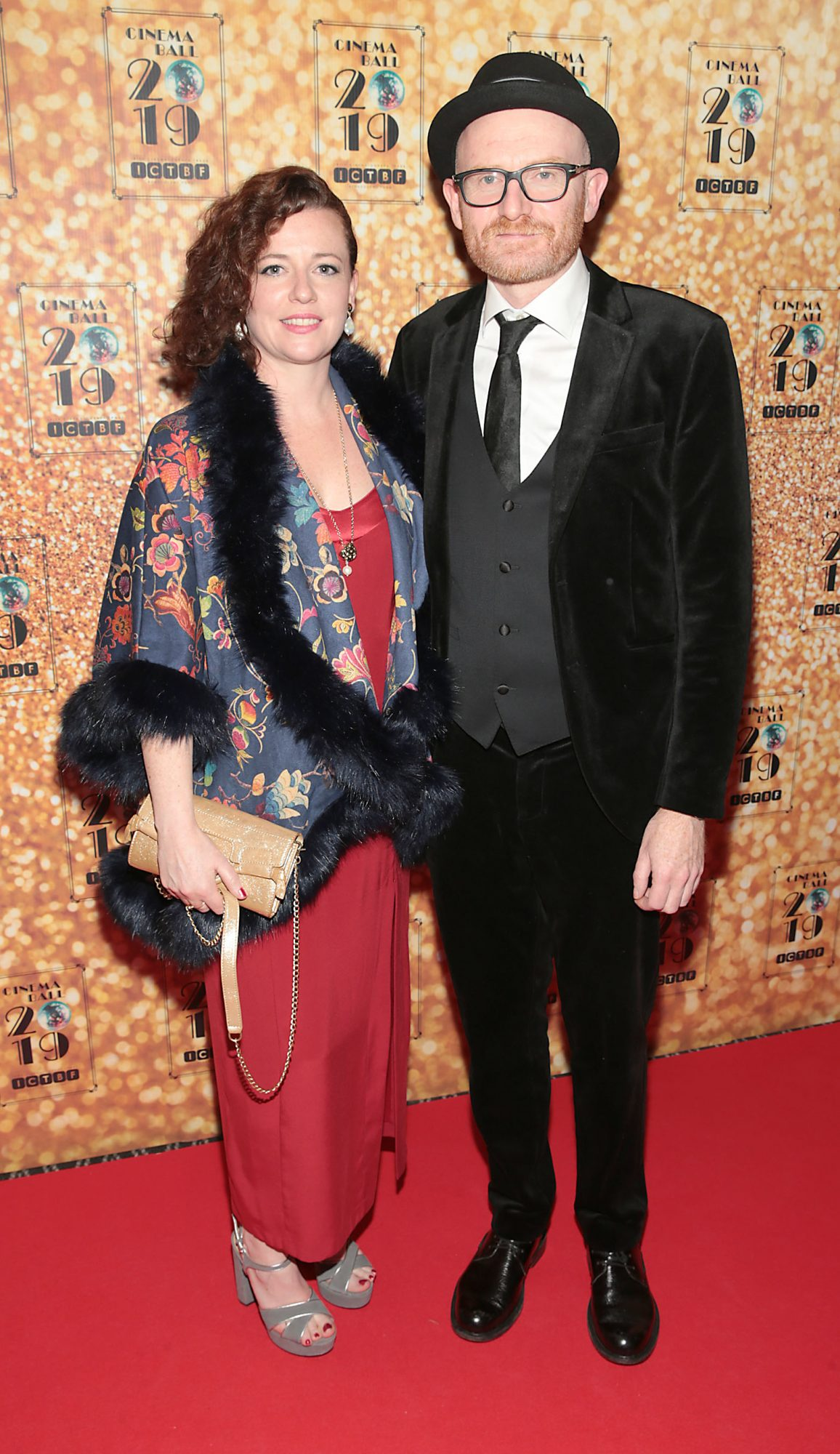Yvonne Ross and Paul Young pictured at the Irish Cinema Ball 2019 in aid of the Irish Cinematograph Trade Benevolent Fund (ICTBF ) at The Shelbourne Hotel, Dublin This year's theme was the iconic 'Studio 54'. Pic: Brian McEvoy.