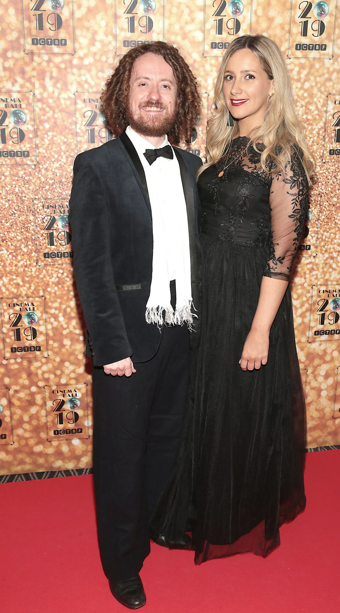 Paul Giggal and Sylvia Hallahan pictured at the Irish Cinema Ball 2019 in aid of the Irish Cinematograph Trade Benevolent Fund (ICTBF ) at The Shelbourne Hotel, Dublin This year's theme was the iconic 'Studio 54'. Pic: Brian McEvoy.
