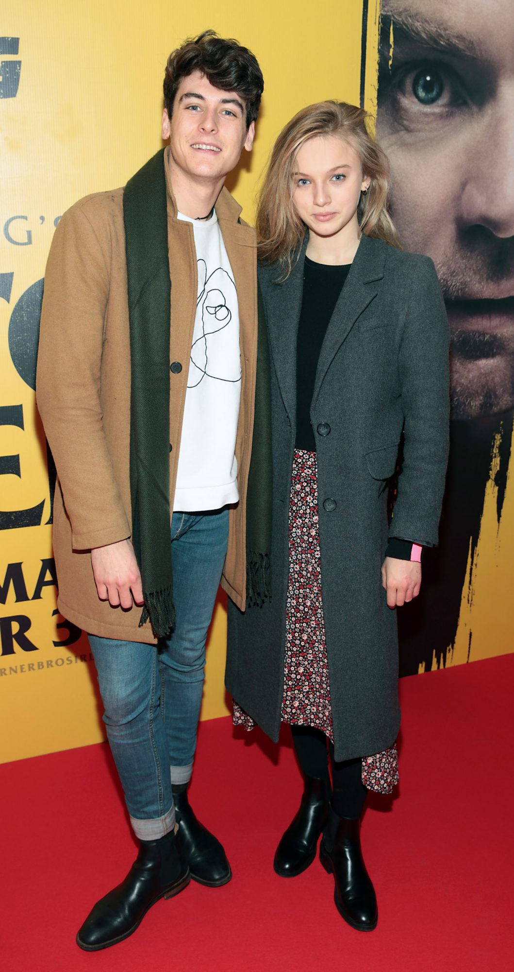Jimmy O Donovan and Kerri Patten at the special preview screening of Doctor Sleep at the Light House Cinema, Dublin. Pic: Brian McEvoy.