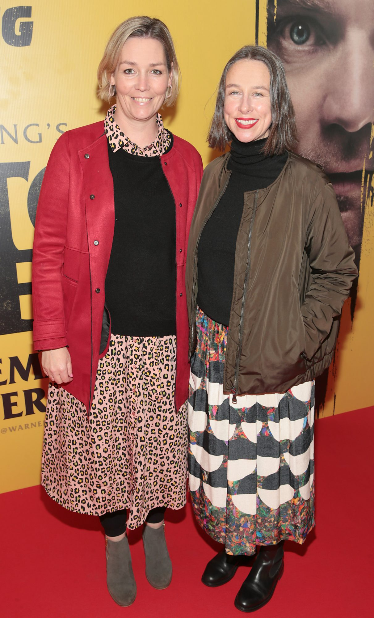 Siobhan Gethins and Jan Brierton at the special preview screening of Doctor Sleep at the Light House Cinema, Dublin. Pic: Brian McEvoy.