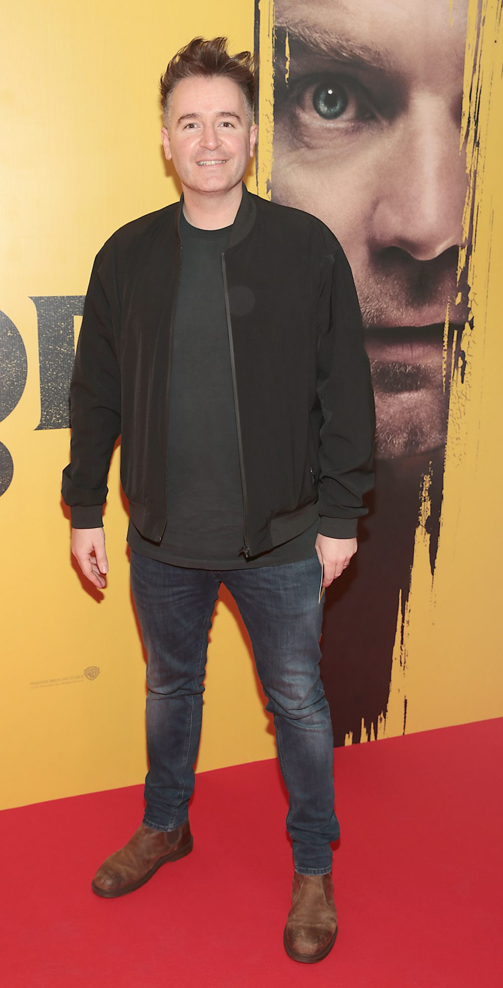 Jarlath Reganat the special pre view screening of Doctor Sleep at the Light House Cinema, Dublin. Pic: Brian McEvoy.