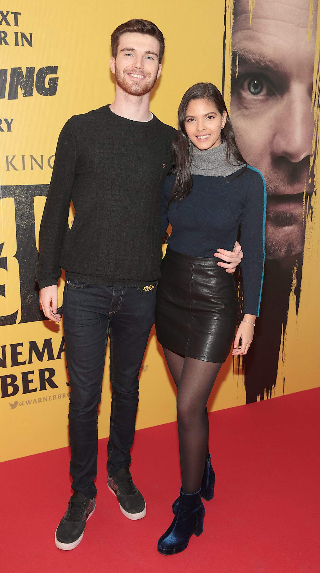 Cian McNally and Raia Ne Borgess at the special preview screening of Doctor Sleep at the Light House Cinema, Dublin. Pic: Brian McEvoy.