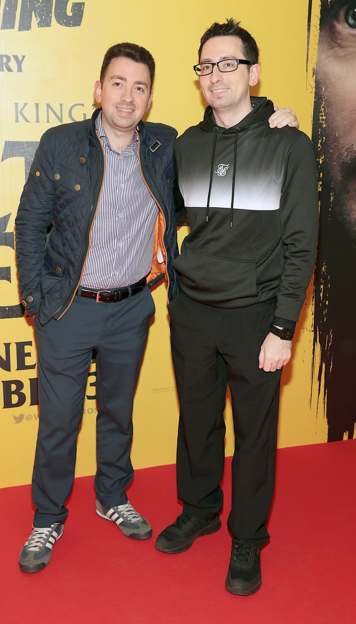 Shane Collender and Steve Collender at the special preview screening of Doctor Sleep at the Light House Cinema, Dublin. Pic: Brian McEvoy.
