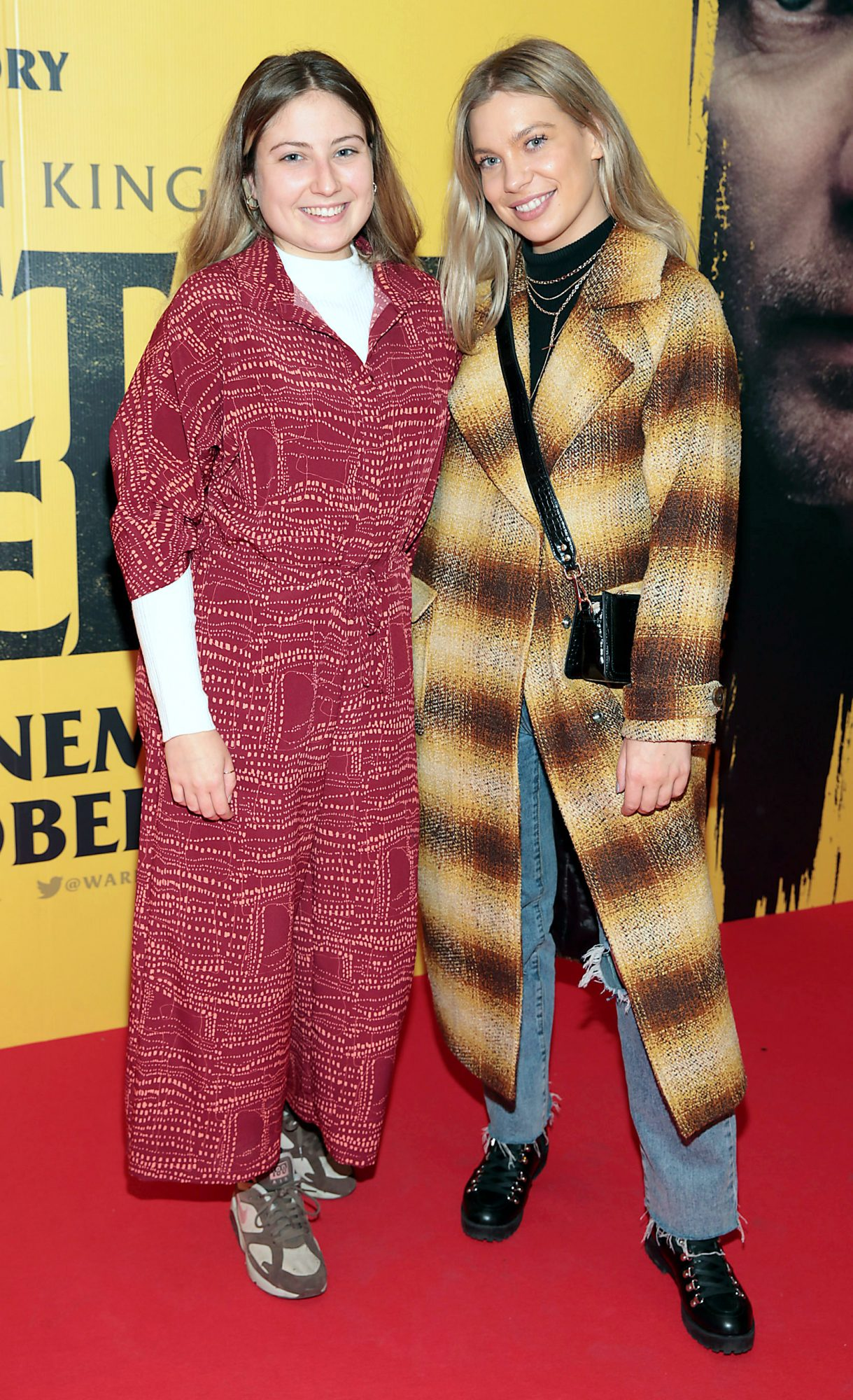 Ailish Healy and Ashley Mahon at the special preview screening of Doctor Sleep at the Light House Cinema, Dublin. Pic: Brian McEvoy.