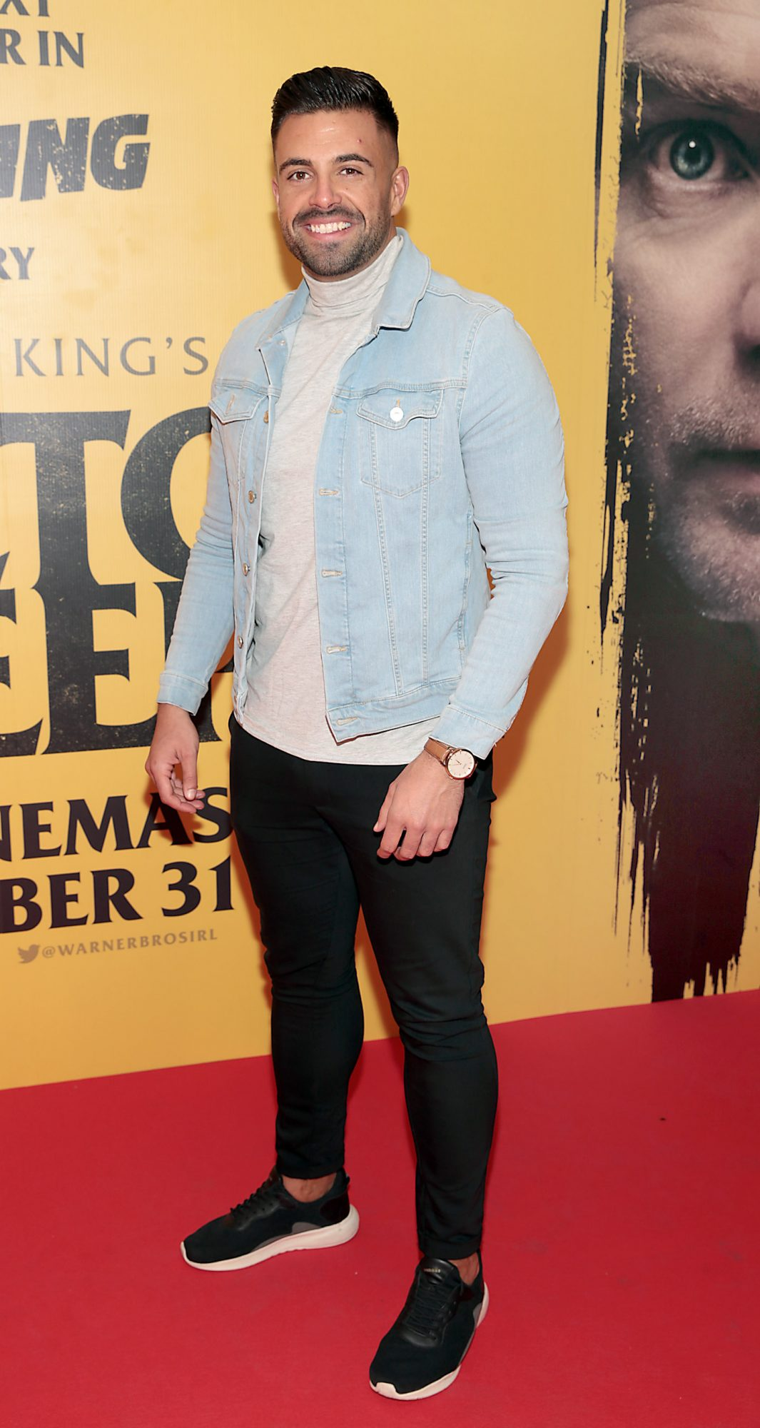Karl Bowe at the special preview screening of Doctor Sleep at the Light House Cinema, Dublin. Pic: Brian McEvoy.