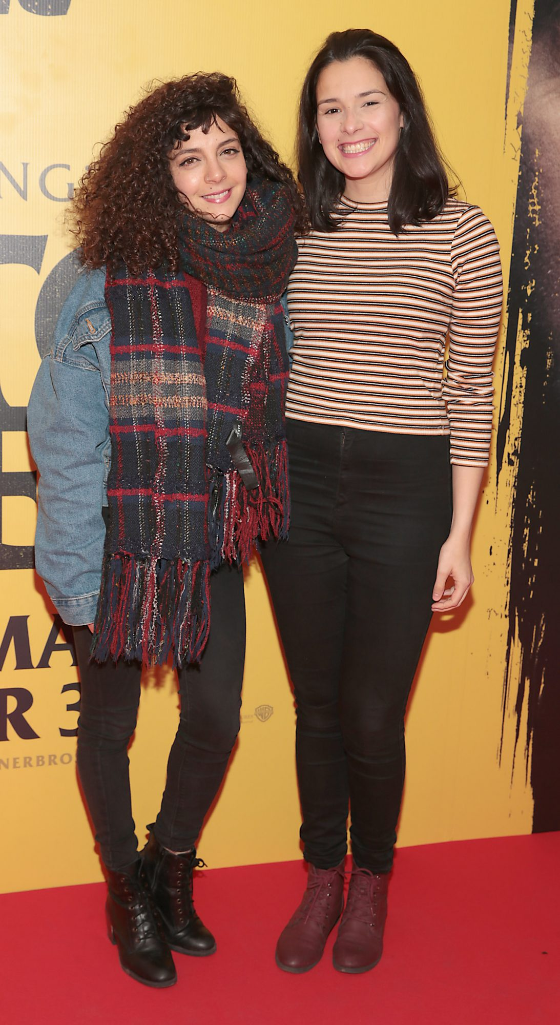 Abeor Younis and Sabiane Millo at the special preview screening of Doctor Sleep at the Light House Cinema, Dublin. Pic: Brian McEvoy.