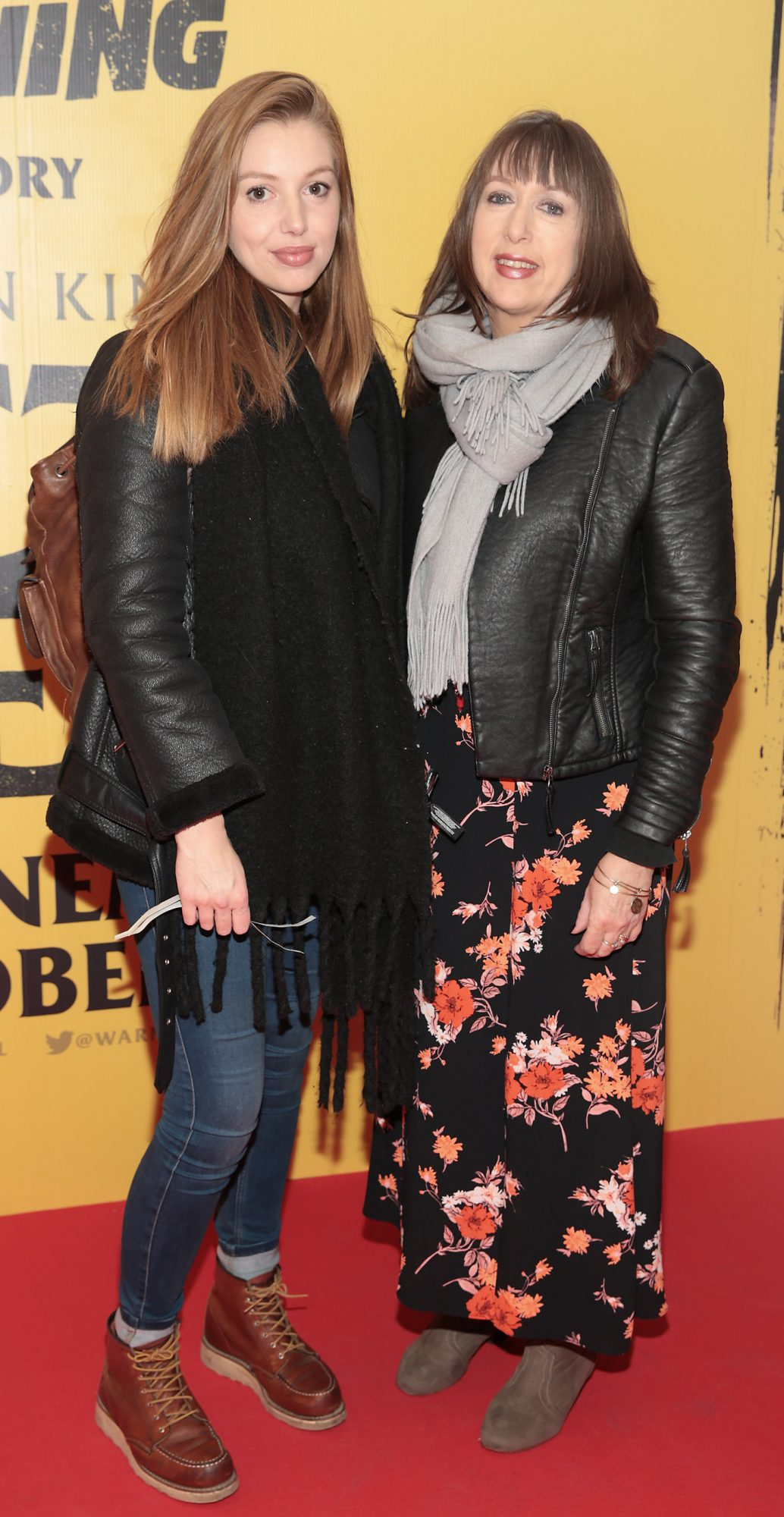 Seana Kerslake and Deirdre Kerslake at the special preview screening of Doctor Sleep at the Light House Cinema, Dublin. Pic: Brian McEvoy.