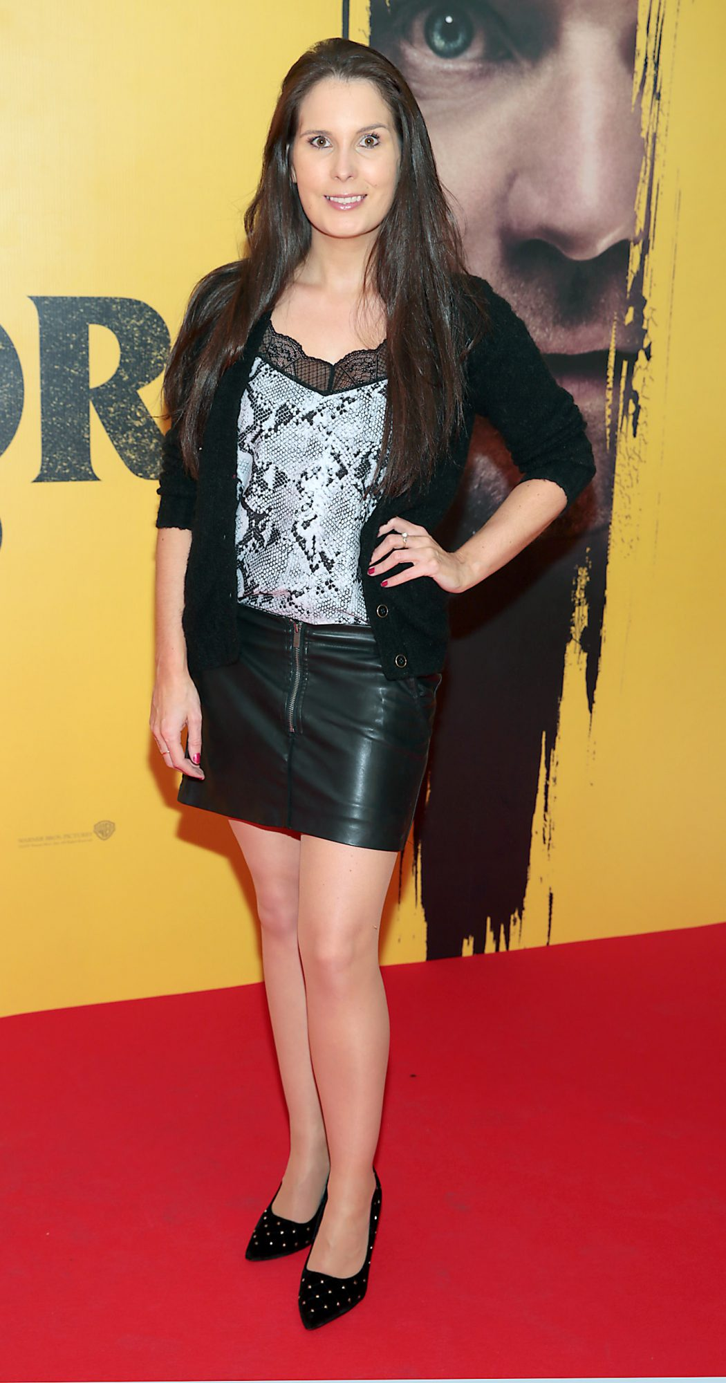 Dani Masterson at the special preview screening of Doctor Sleep at the Light House Cinema, Dublin. Pic: Brian McEvoy.