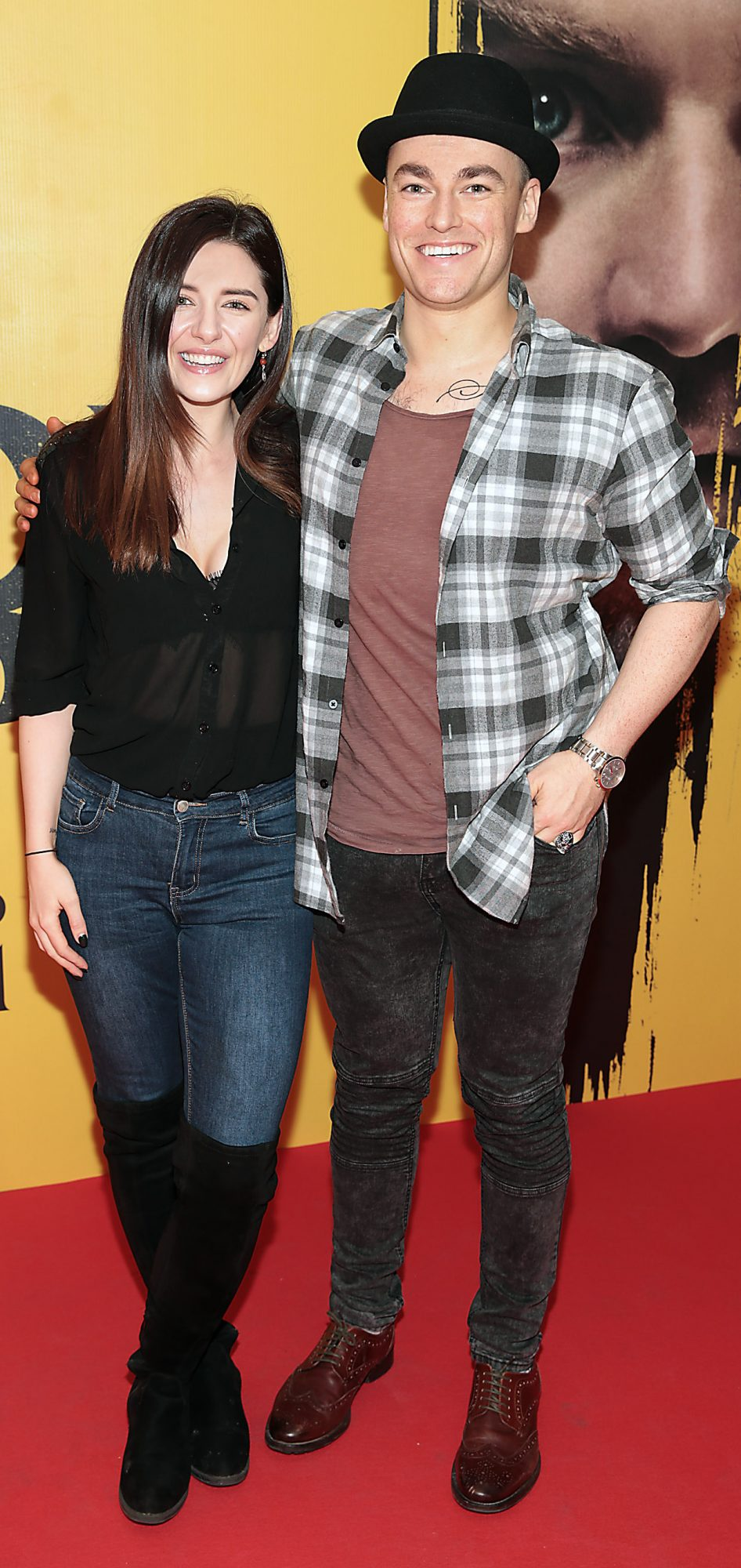 Melanie Murphy and Thomas O Rourke  at the special preview screening of Doctor Sleep at the Light House Cinema, Dublin. Pic: Brian McEvoy.