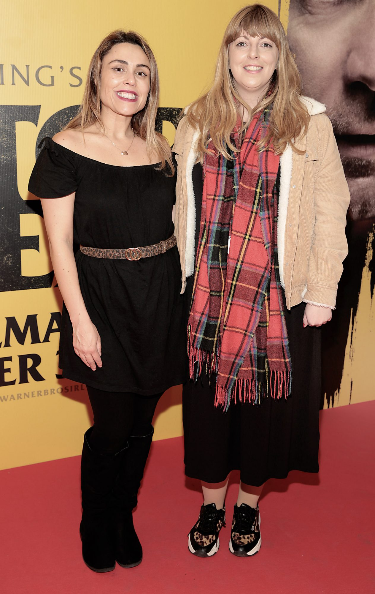 Avril Burke and Aoife O Regan at the special preview screening of Doctor Sleep at the Light House Cinema, Dublin. Pic: Brian McEvoy.