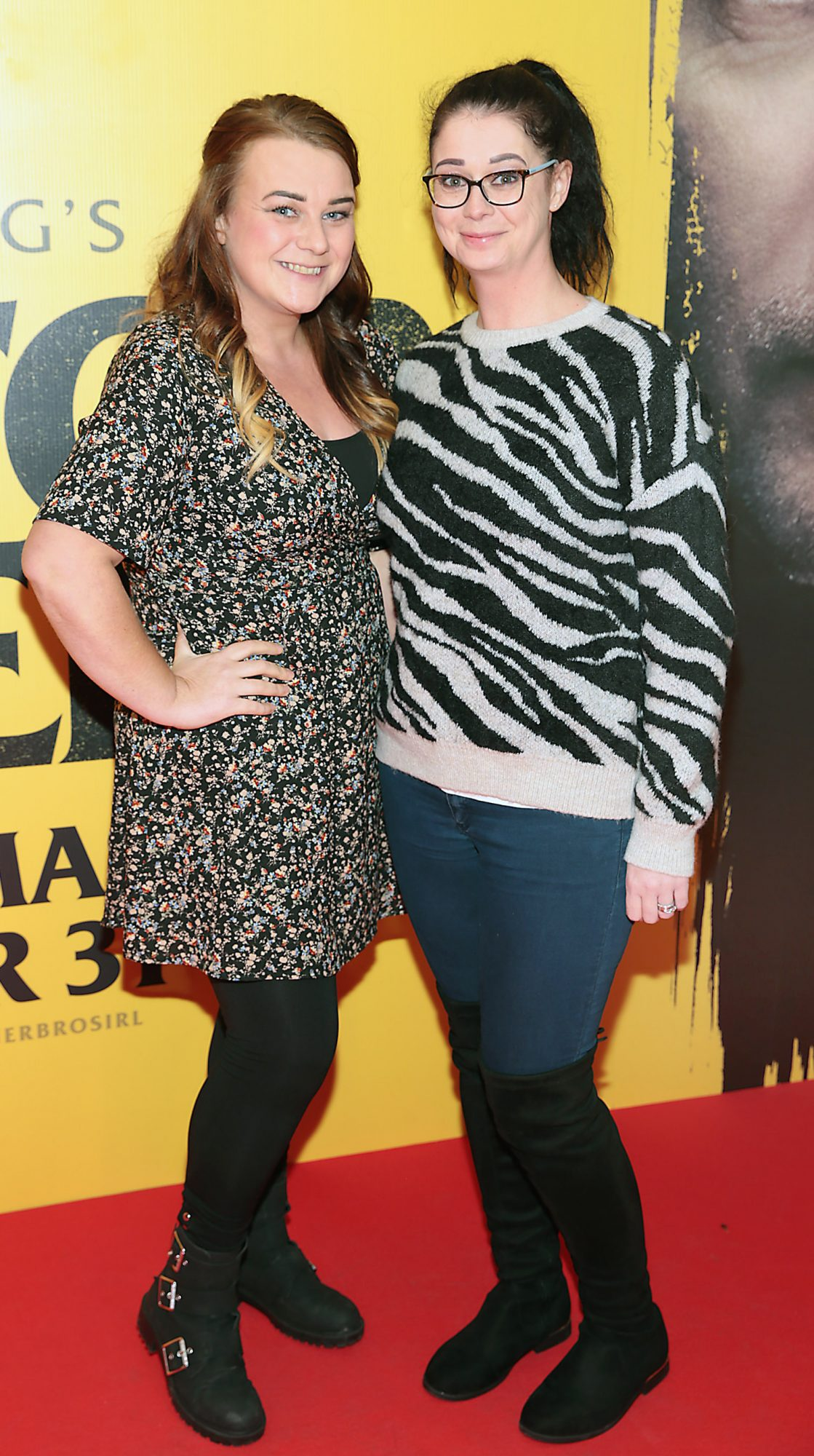 Samantha Flynn and Jackie Geraghty at the special preview screening of Doctor Sleep at the Light House Cinema, Dublin. Pic: Brian McEvoy.