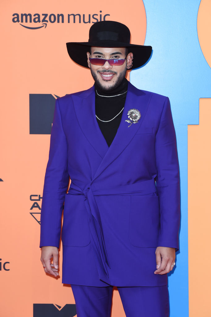 Hugo Gloss attends the MTV EMAs 2019 at FIBES Conference and Exhibition Centre on November 03, 2019 in Seville, Spain. (Photo by Kate Green/Getty Images for MTV)