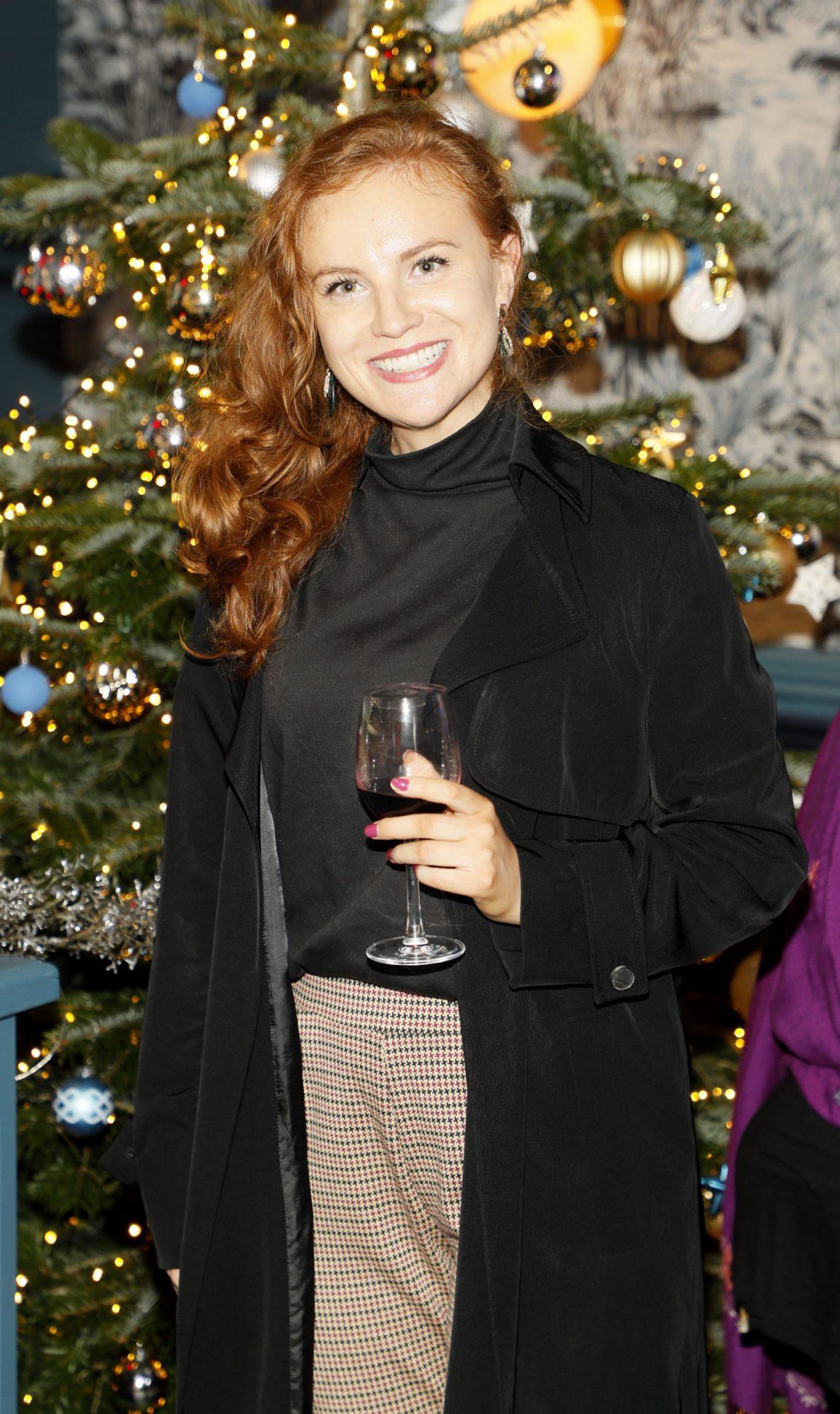 Louise Carroll at the Tesco 2019 Christmas Showcase in Dublin's Iveagh Garden Hotel.   Photo: Kieran Harnett