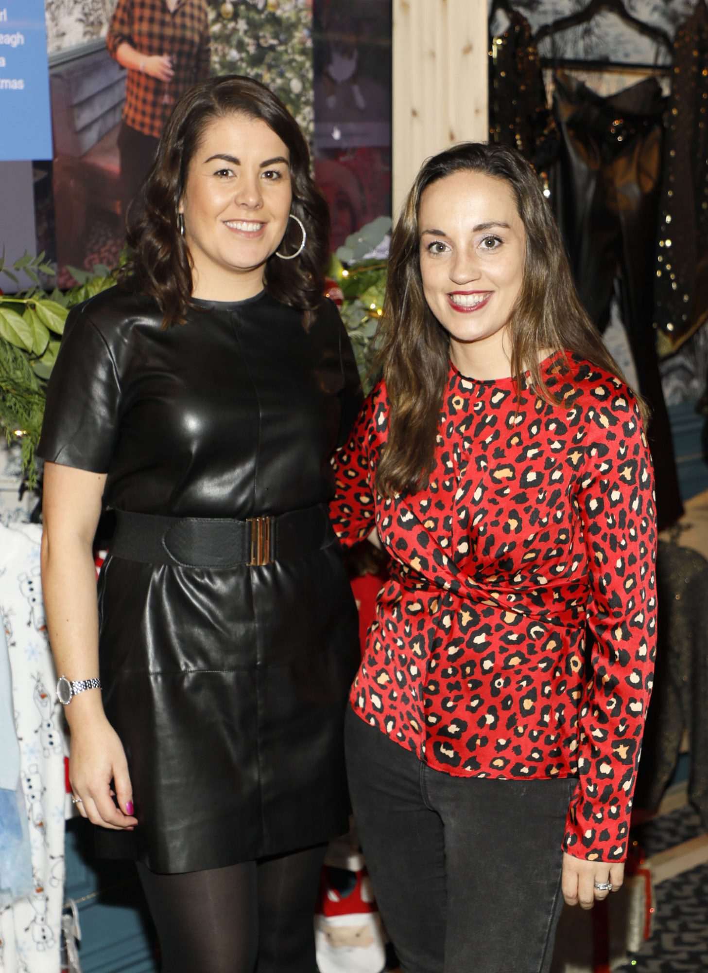 Sue Shiels and Kelly Felton at the Tesco 2019 Christmas Showcase in Dublin's Iveagh Garden Hotel.  Photo: Kieran Harnett