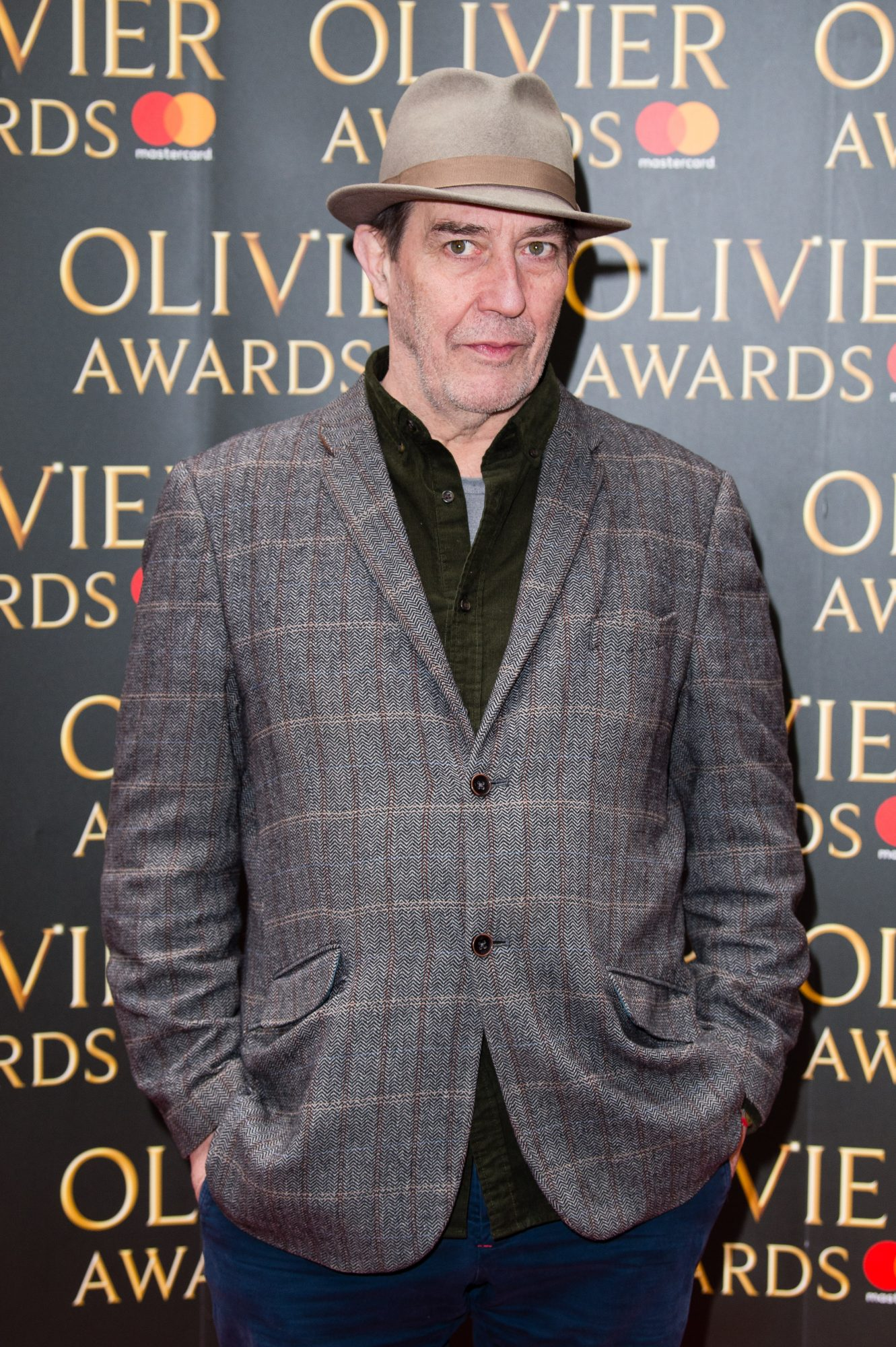 LONDON, ENGLAND - MARCH 09:  Ciaran Hinds attends the Olivier Awards nominations celebration at Rosewood Hotel on March 9, 2018 in London, England.  (Photo by Jeff Spicer/Getty Images)