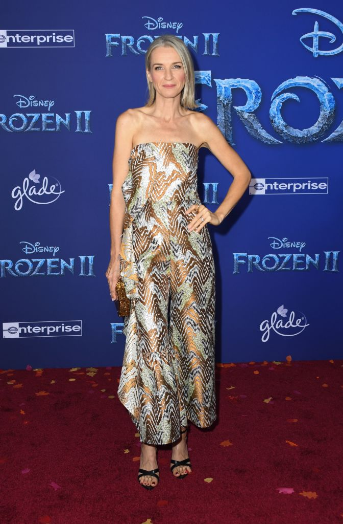 "US actress Ever Carradine arrives for Disney's World Premiere of ""Frozen 2"" at the Dolby theatre in Hollywood on November 7, 2019. (Photo by VALERIE MACON/AFP via Getty Images)"