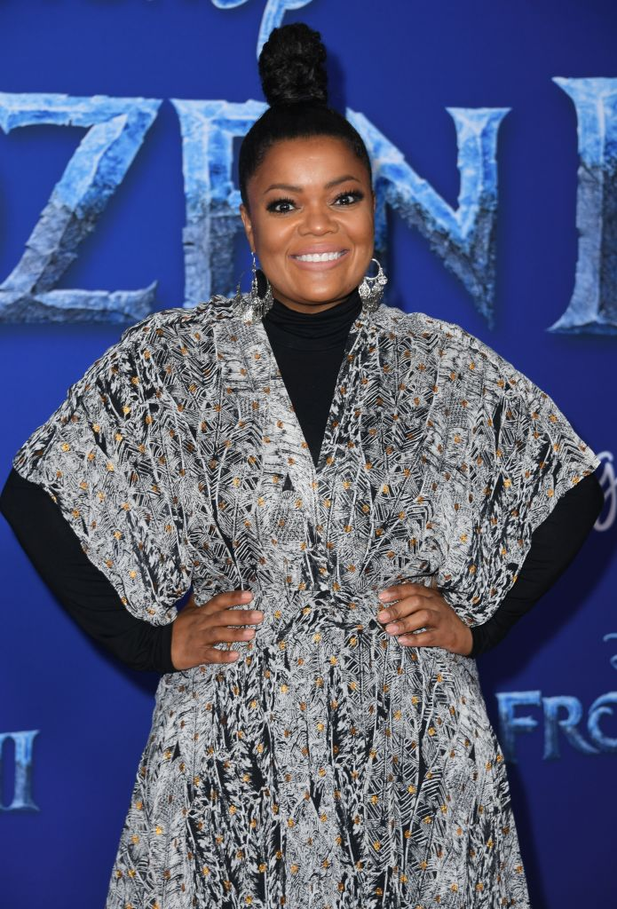 "US actress Yvette Nicole Brown arrives for Disney's World Premiere of ""Frozen 2"" at the Dolby theatre in Hollywood on November 7, 2019. (Photo by VALERIE MACON/AFP via Getty Images)"