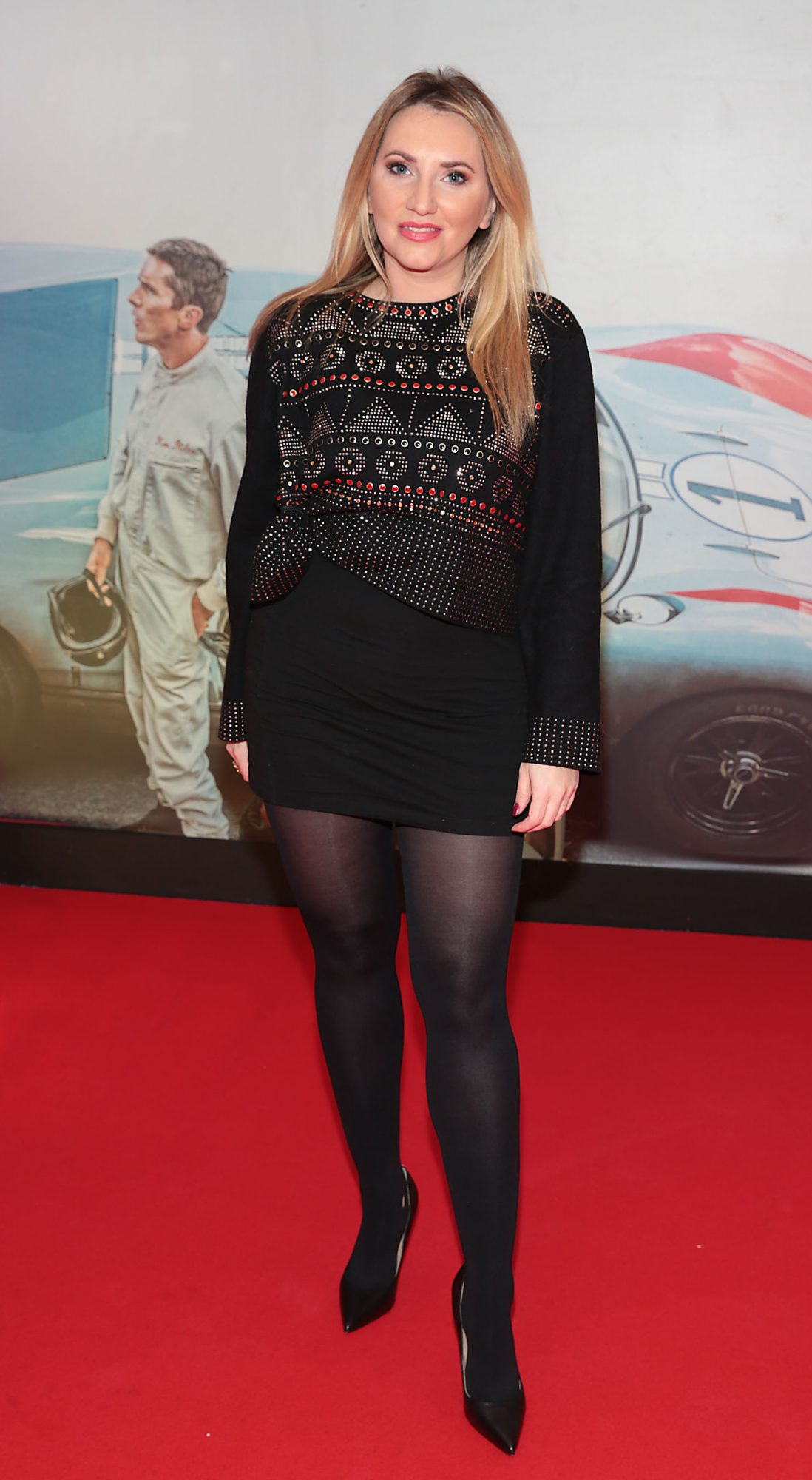 Monica Walsh pictured at the special preview screening of Le Mans '66 at Cineworld, Dublin. Photo: Brian McEvoy.