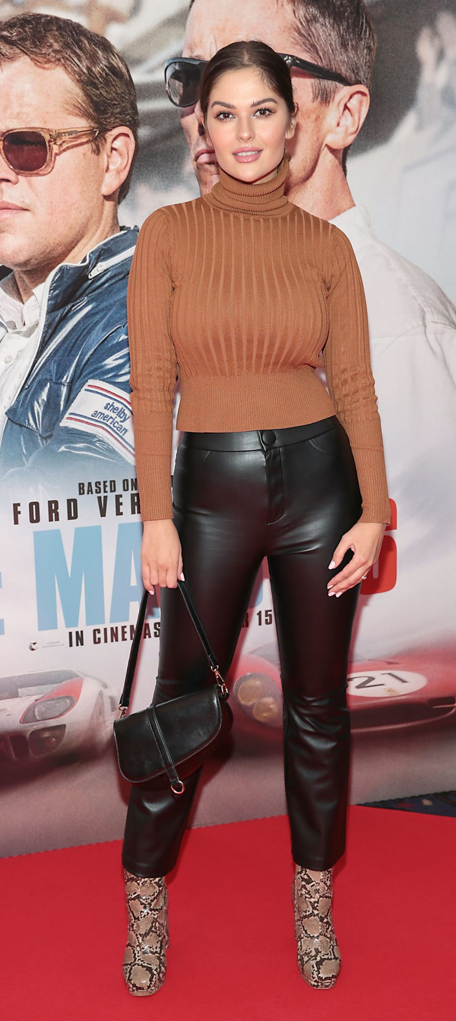 Natalia Petric pictured at the special preview screening of Le Mans '66 at Cineworld, Dublin. Photo: Brian McEvoy.