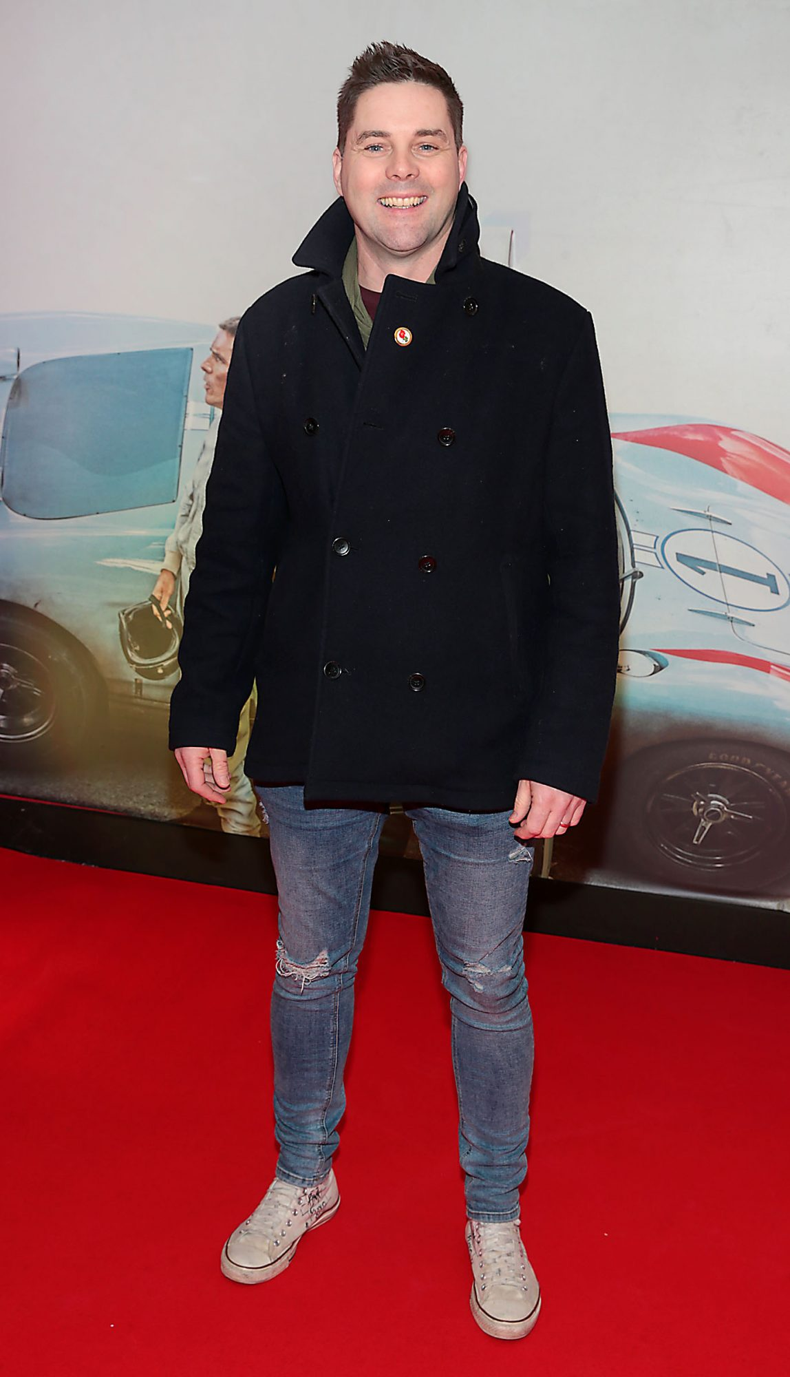 Marty Miller pictured at the special preview screening of Le Mans '66 at Cineworld, Dublin. Photo: Brian McEvoy.