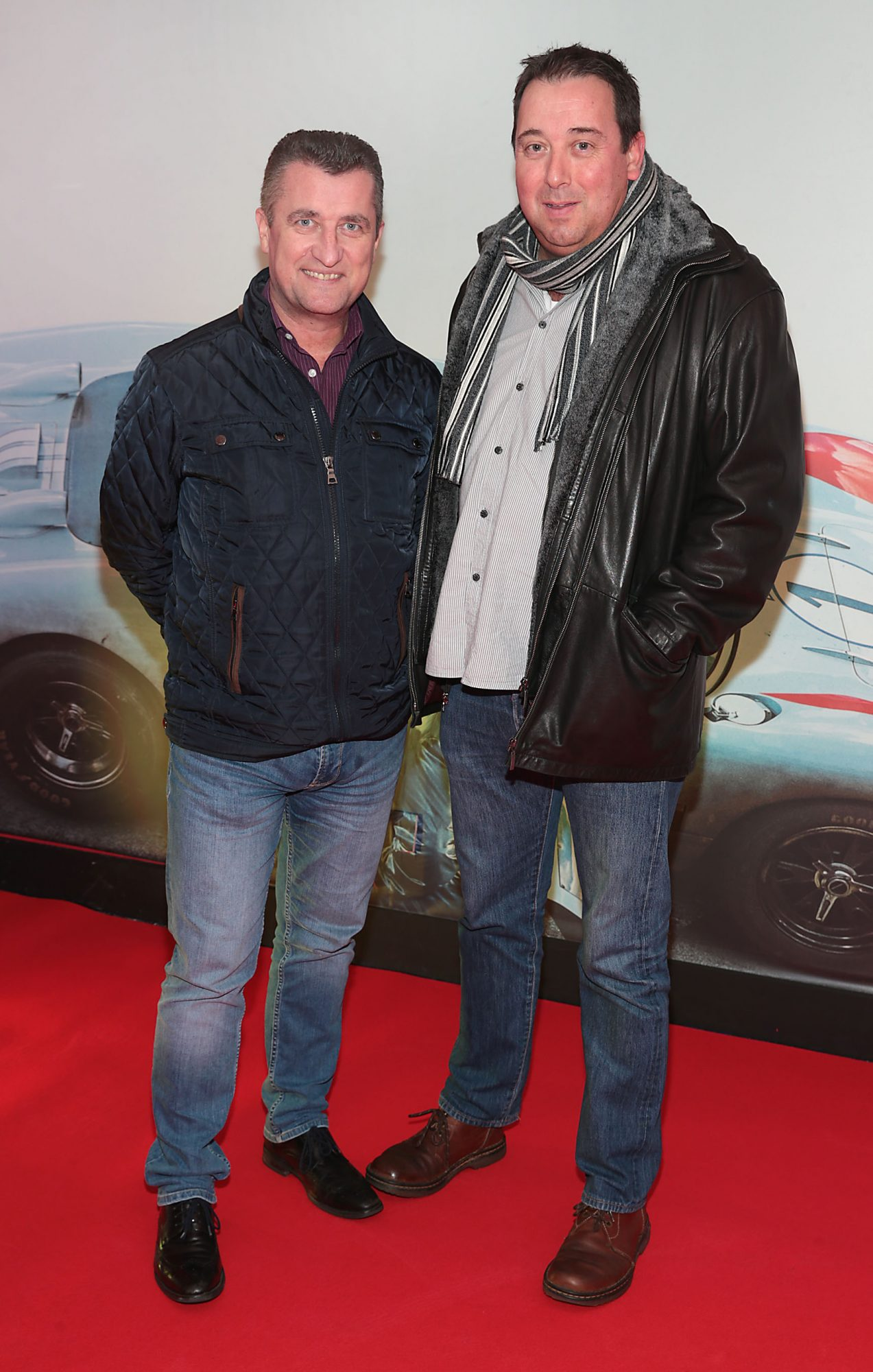Alan Haskins and Val Fitzsimons pictured at the special preview screening of Le Mans '66 at Cineworld, Dublin. Photo: Brian McEvoy.