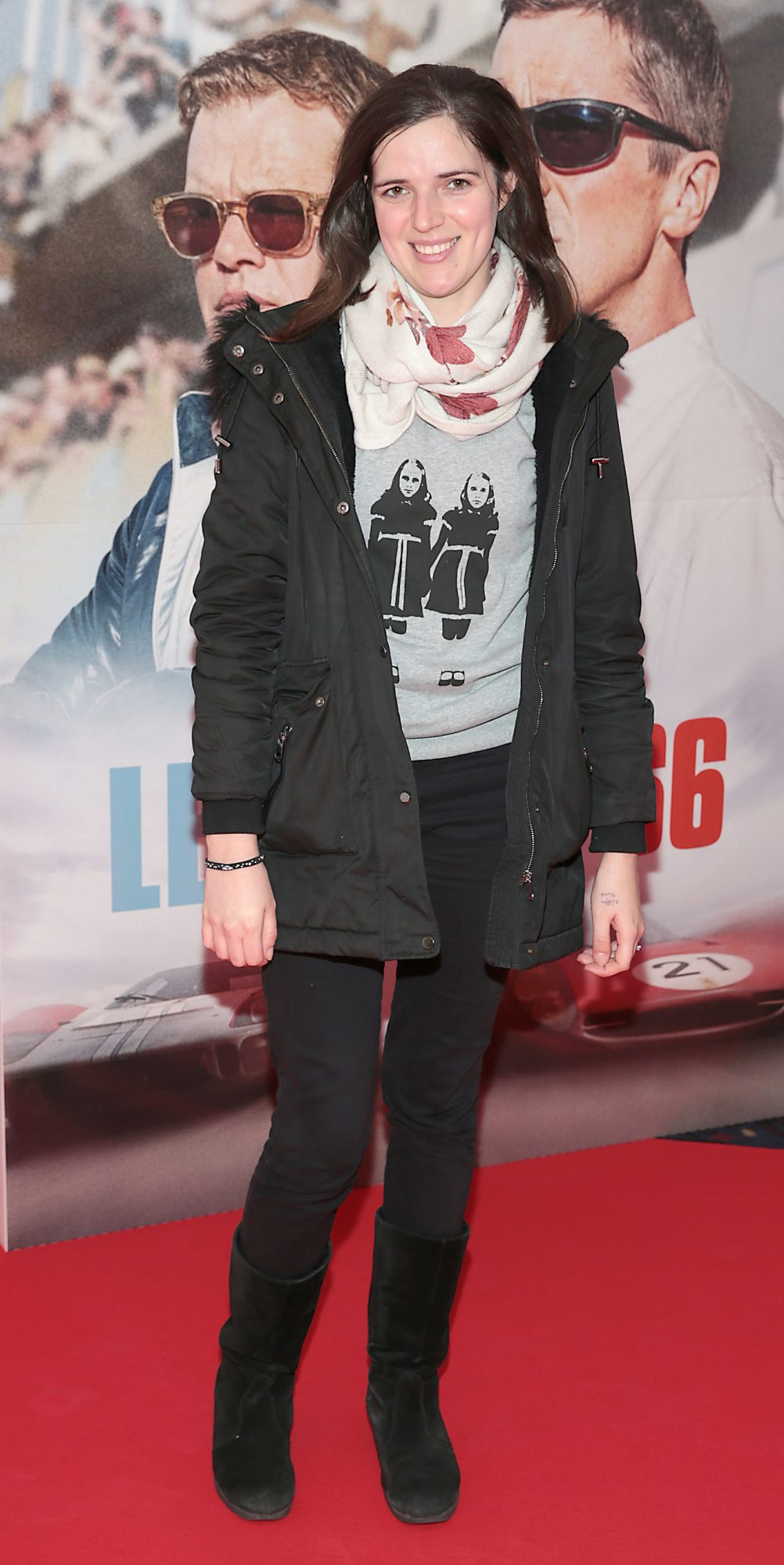 Deirdre Molumby pictured at the special preview screening of Le Mans '66 at Cineworld, Dublin. Photo: Brian McEvoy.